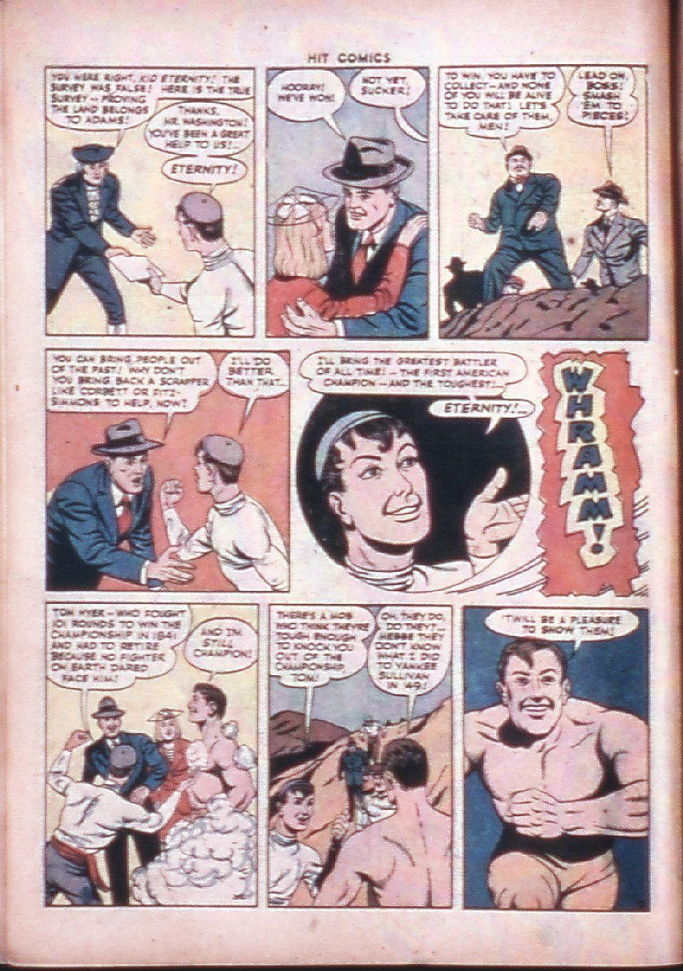 Read online Hit Comics comic -  Issue #33 - 14