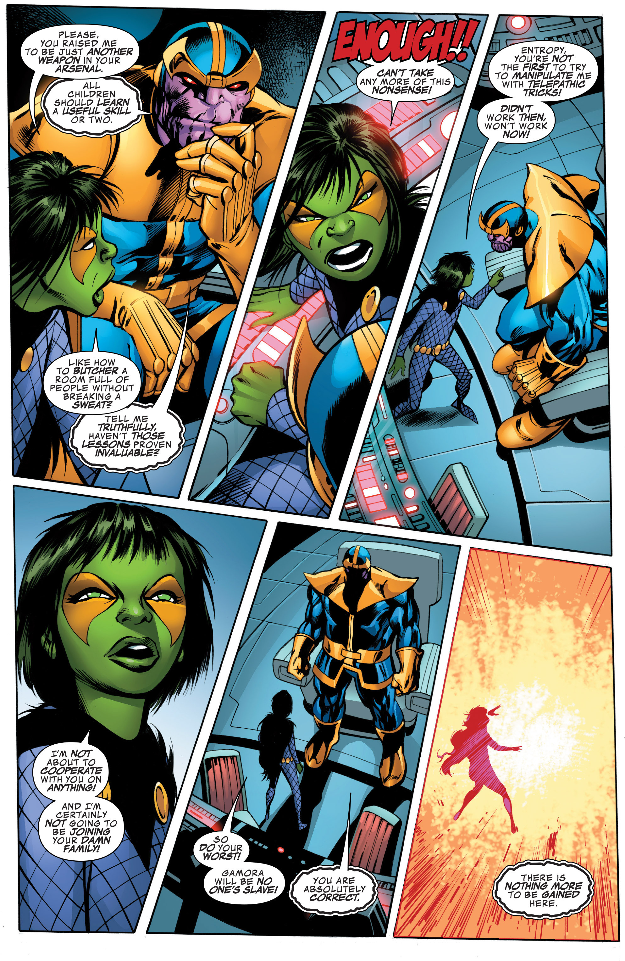 Read online Guardians of the Galaxy: Mother Entropy comic -  Issue #2 - 18