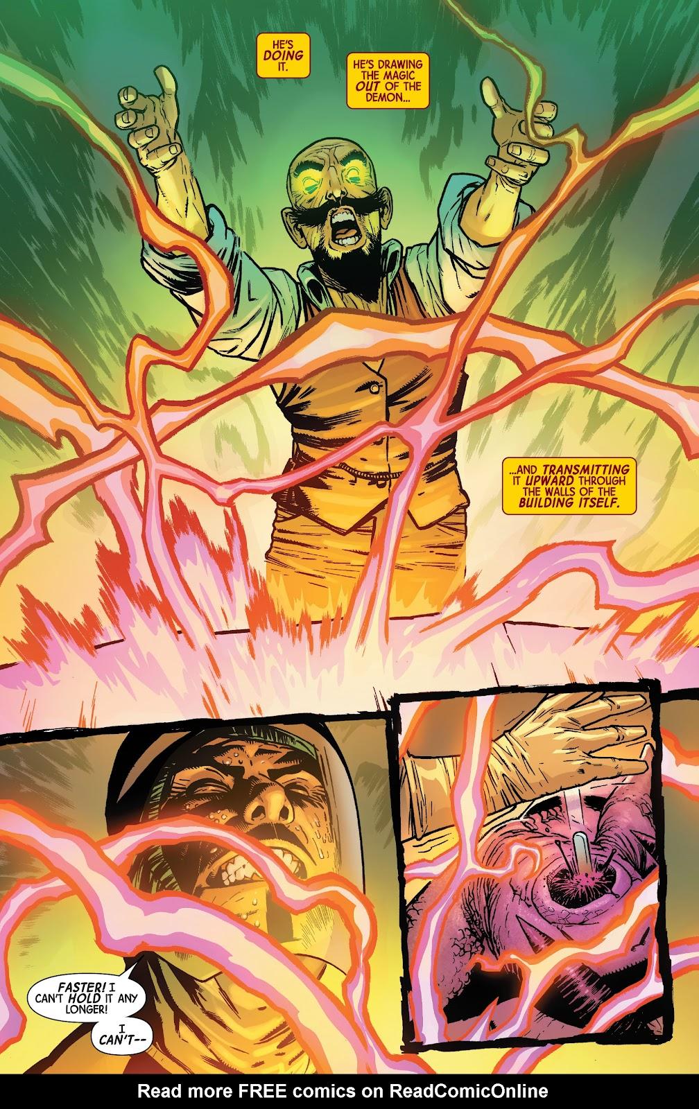 Read online Dr. Strange comic -  Issue #4 - 18