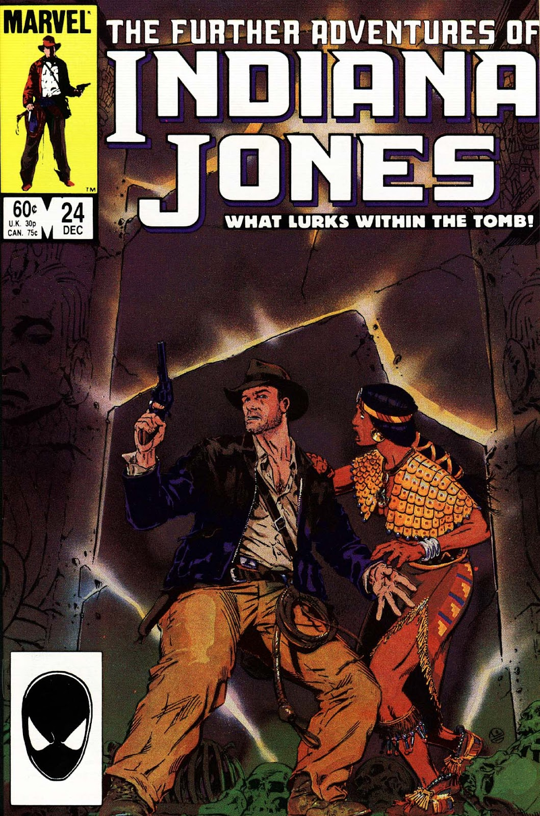 The Further Adventures of Indiana Jones issue 24 - Page 1