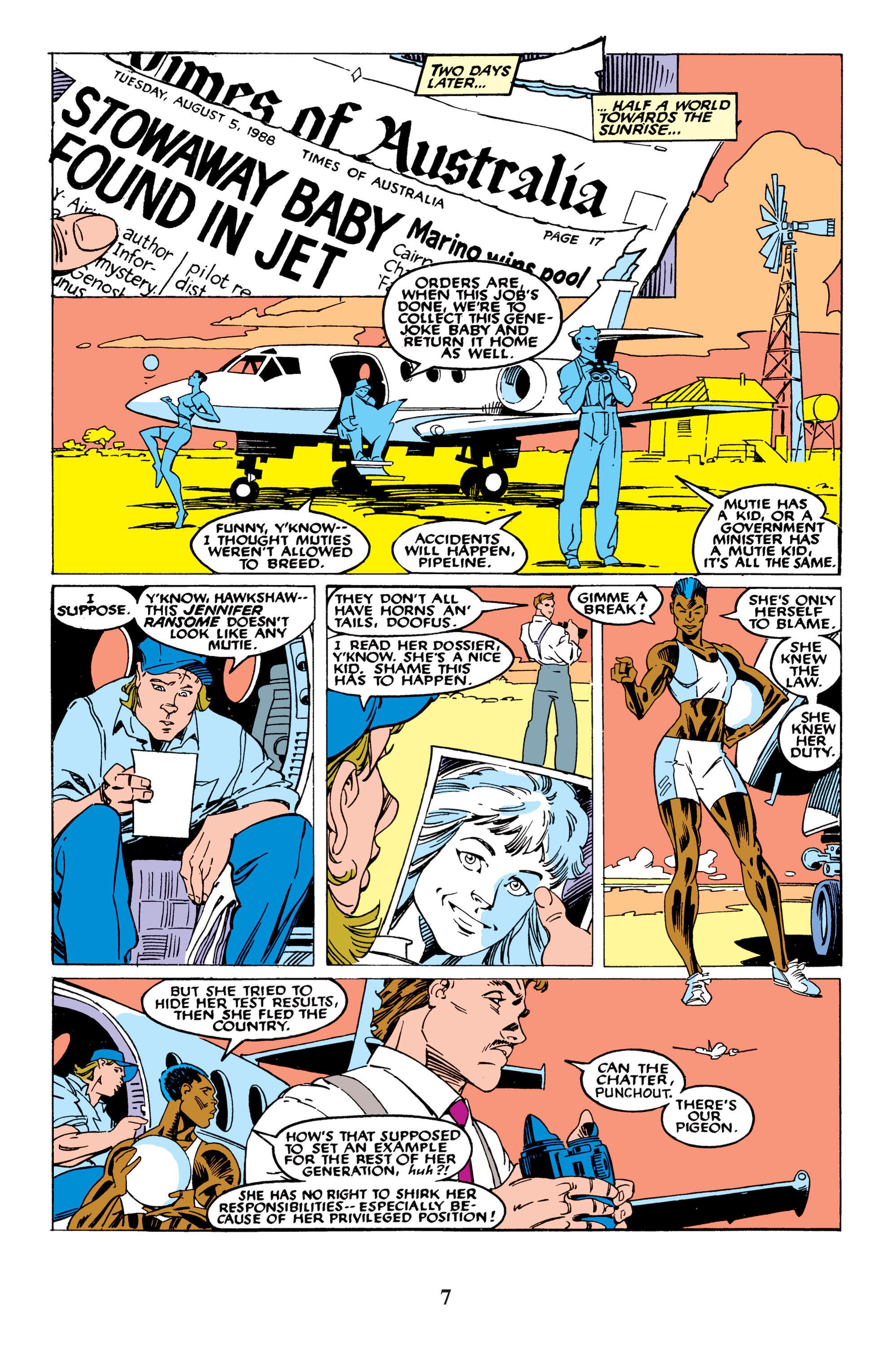 Read online Uncanny X-Men (1963) comic -  Issue #235 - 7