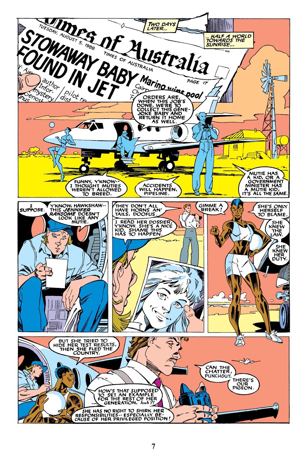 Uncanny X-Men (1963) issue 235 - Page 7