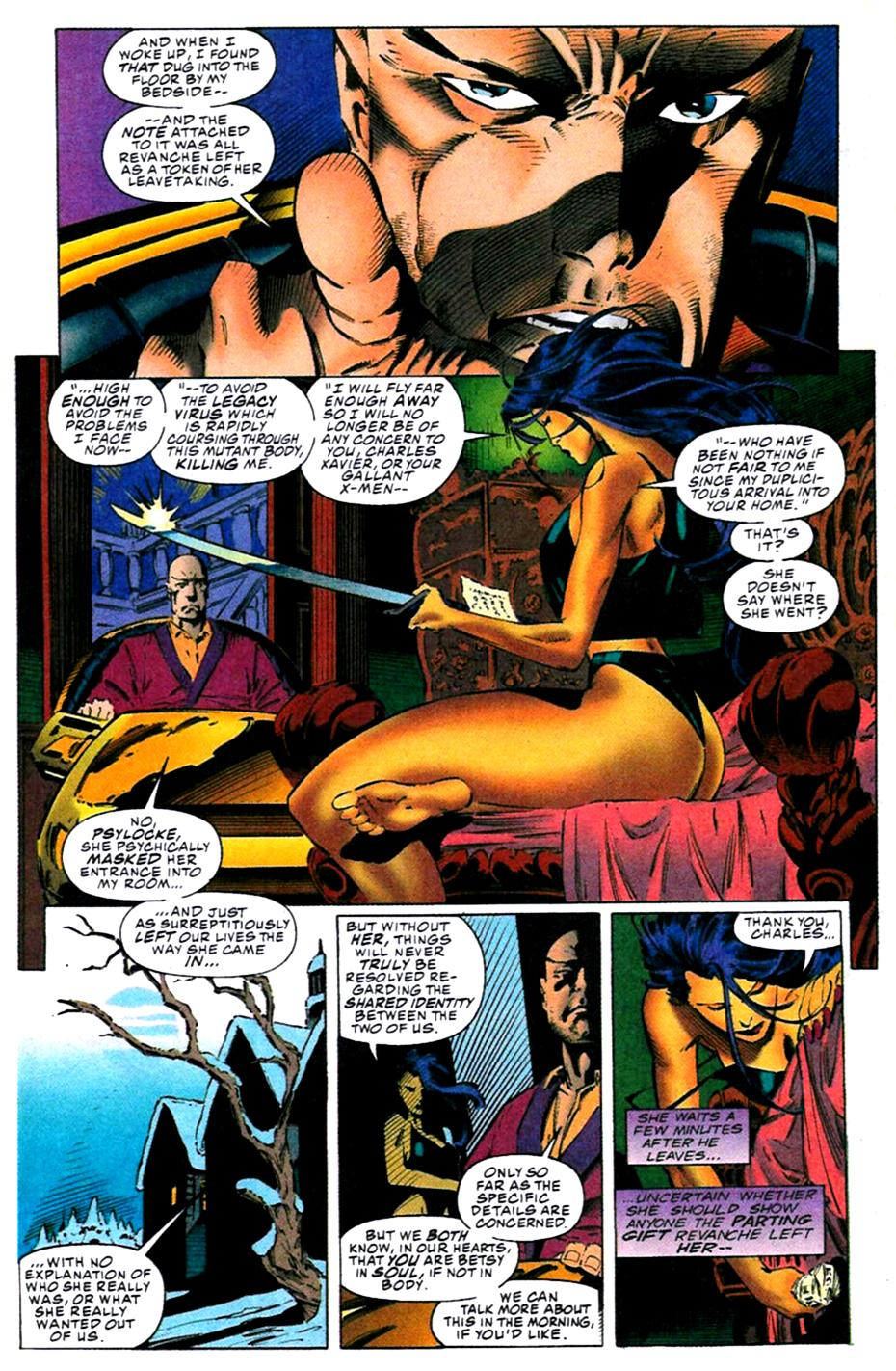 X-Men (1991) 31 Page 4