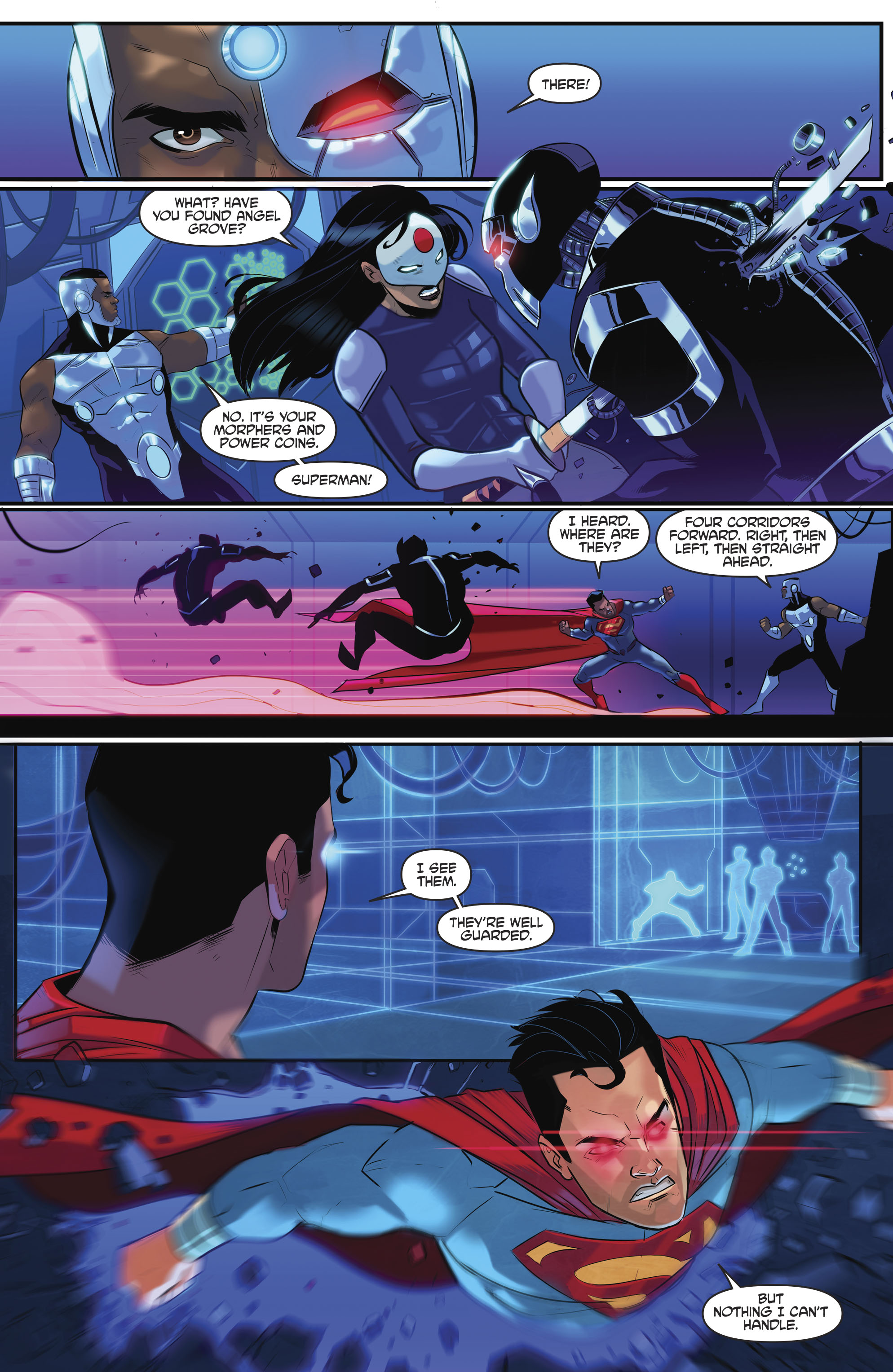 Read online Justice League/Mighty Morphin' Power Rangers comic -  Issue #4 - 20