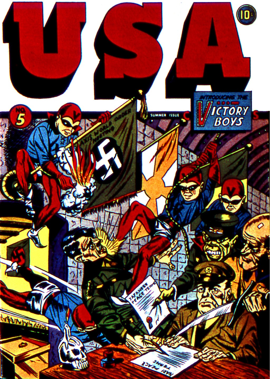 USA Comics issue 5 - Page 1
