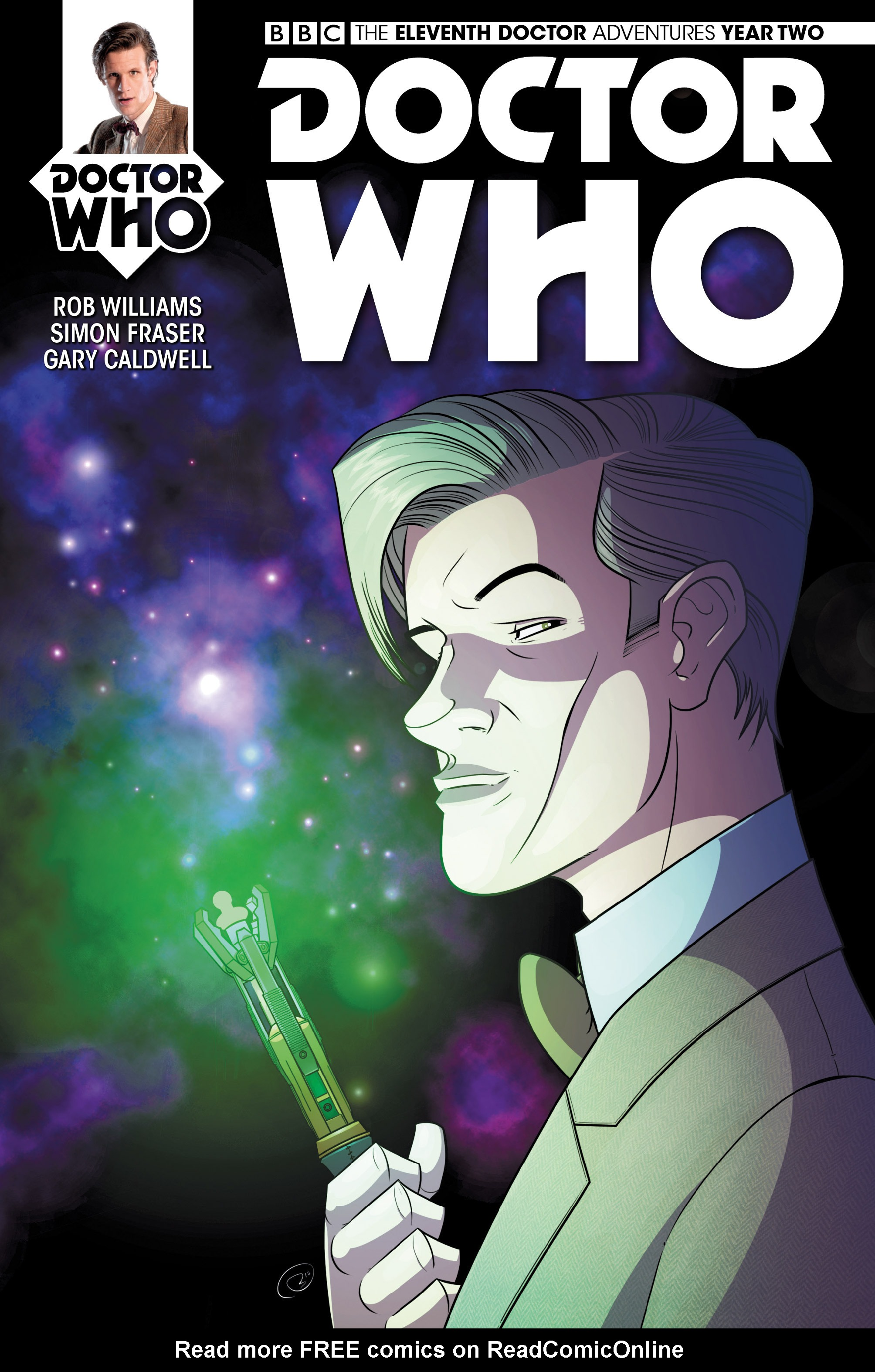Doctor Who: The Eleventh Doctor Year Two 10 Page 1