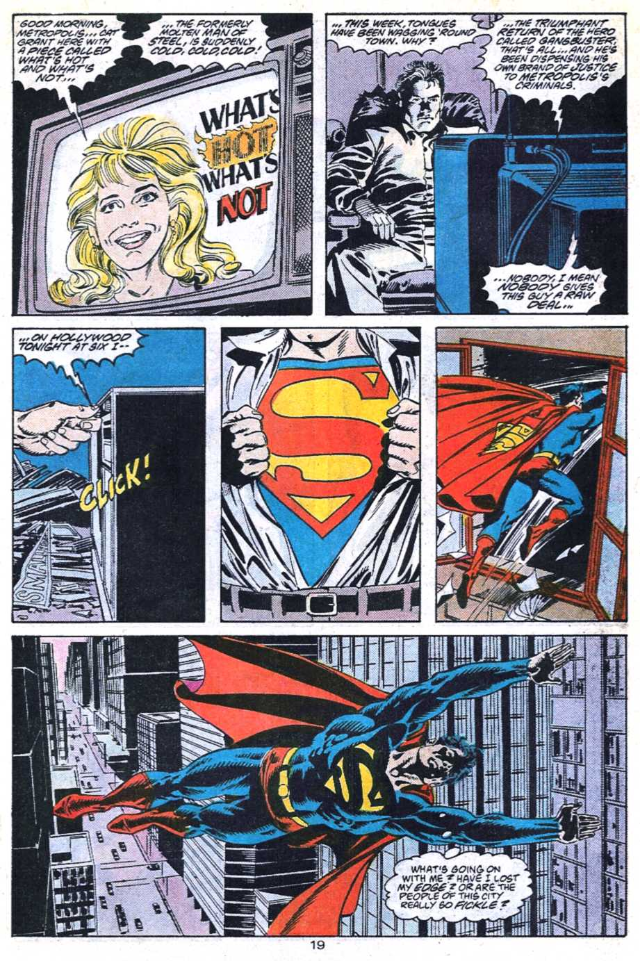 Read online Adventures of Superman (1987) comic -  Issue #448 - 20