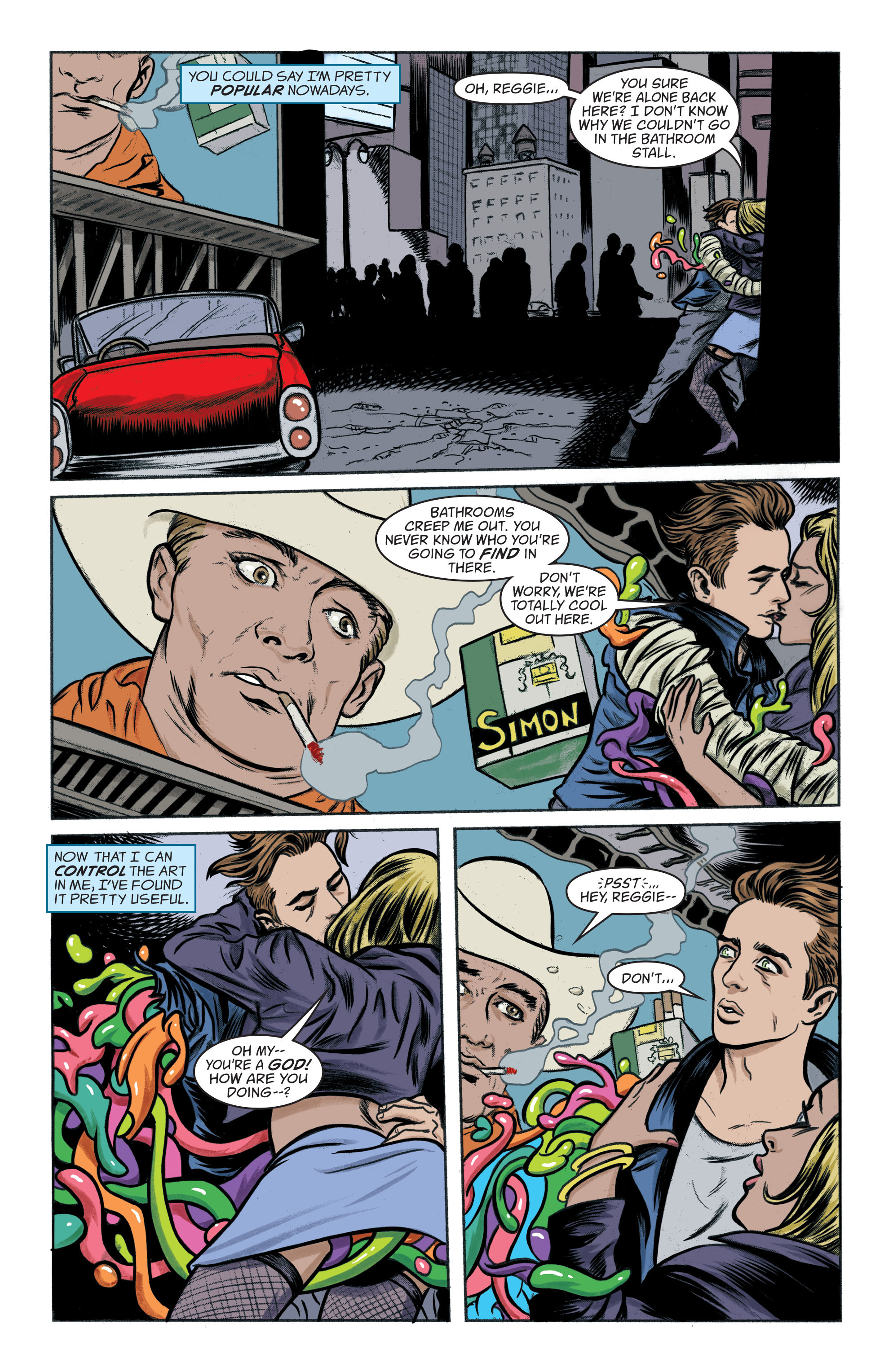 Read online Art Ops comic -  Issue #8 - 3