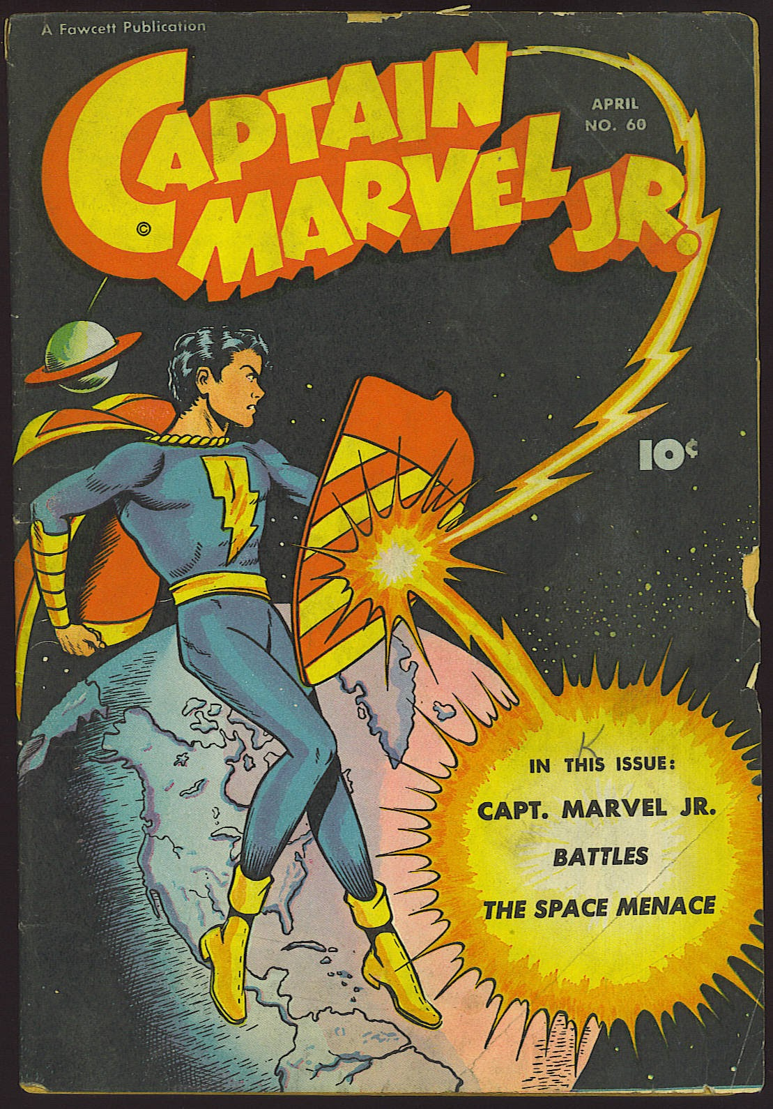 Captain Marvel, Jr. issue 60 - Page 1