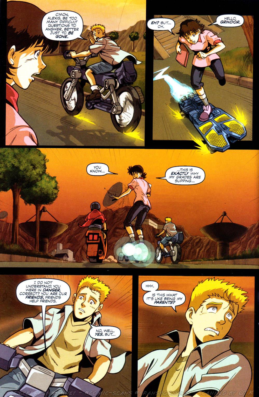 Read online Transformers Armada comic -  Issue #8 - 9