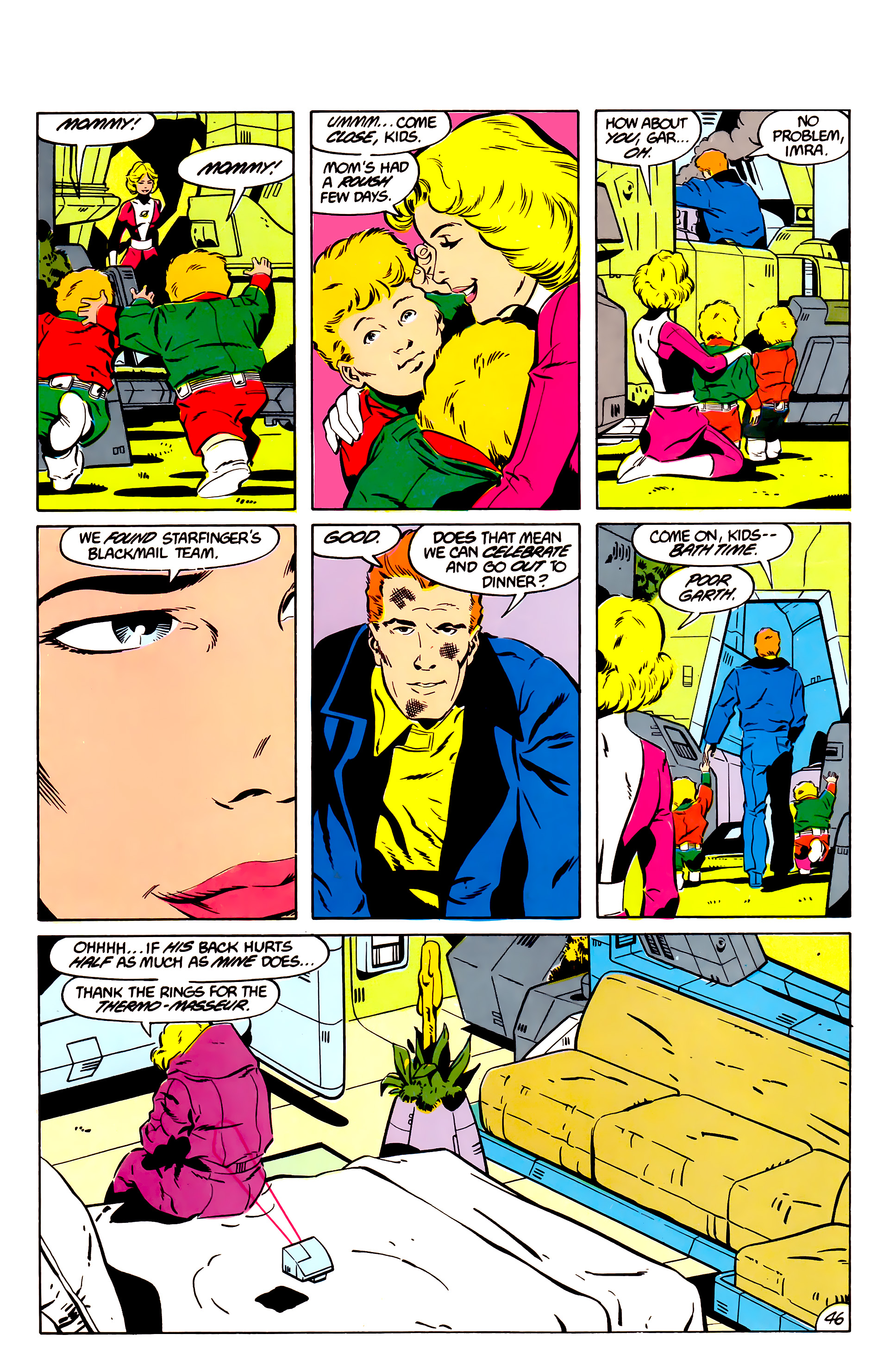 Legion of Super-Heroes (1984) 45 Page 45