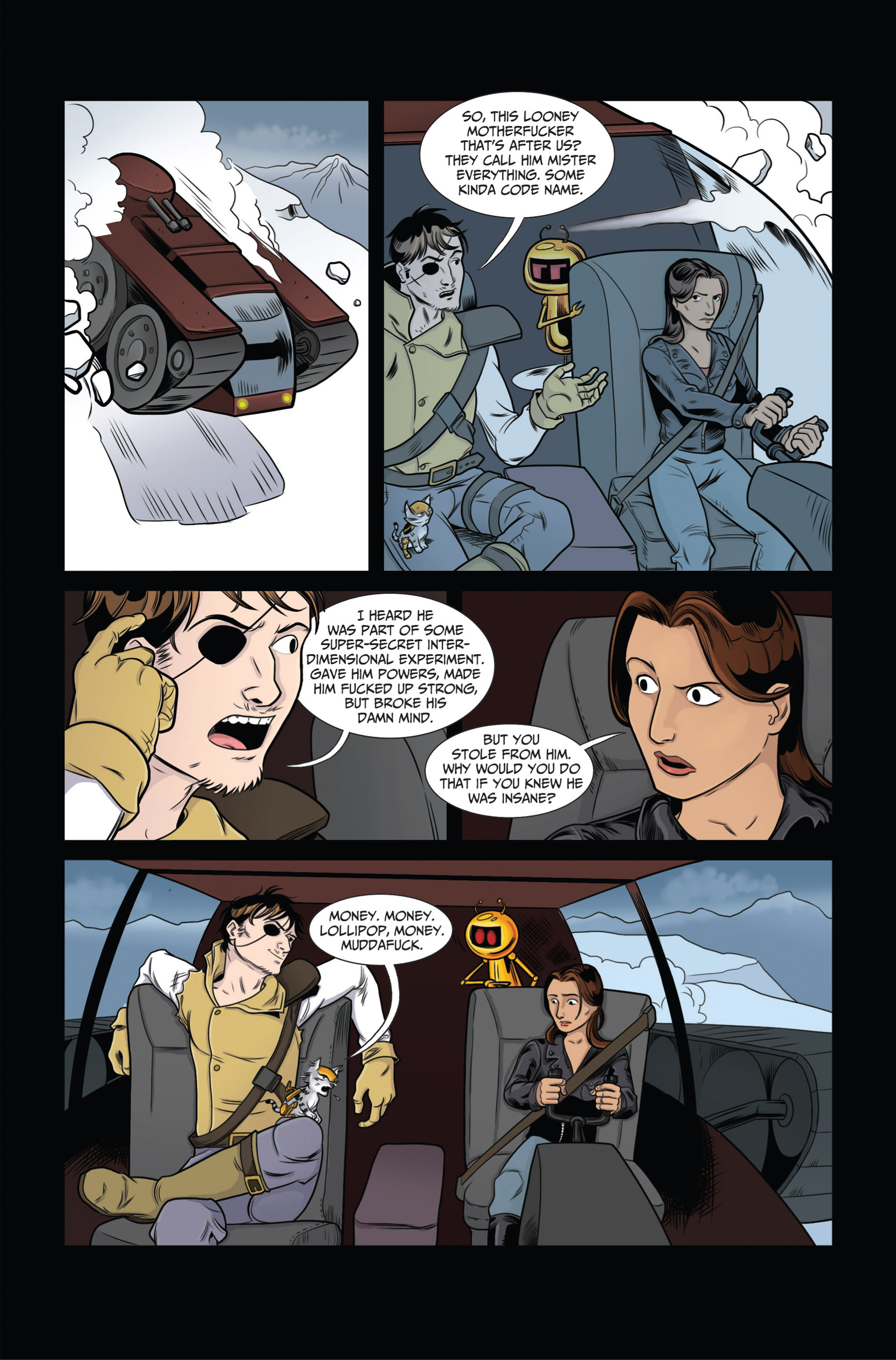 Read online Ehmm Theory: Everything & Small Doses comic -  Issue #2 - 18