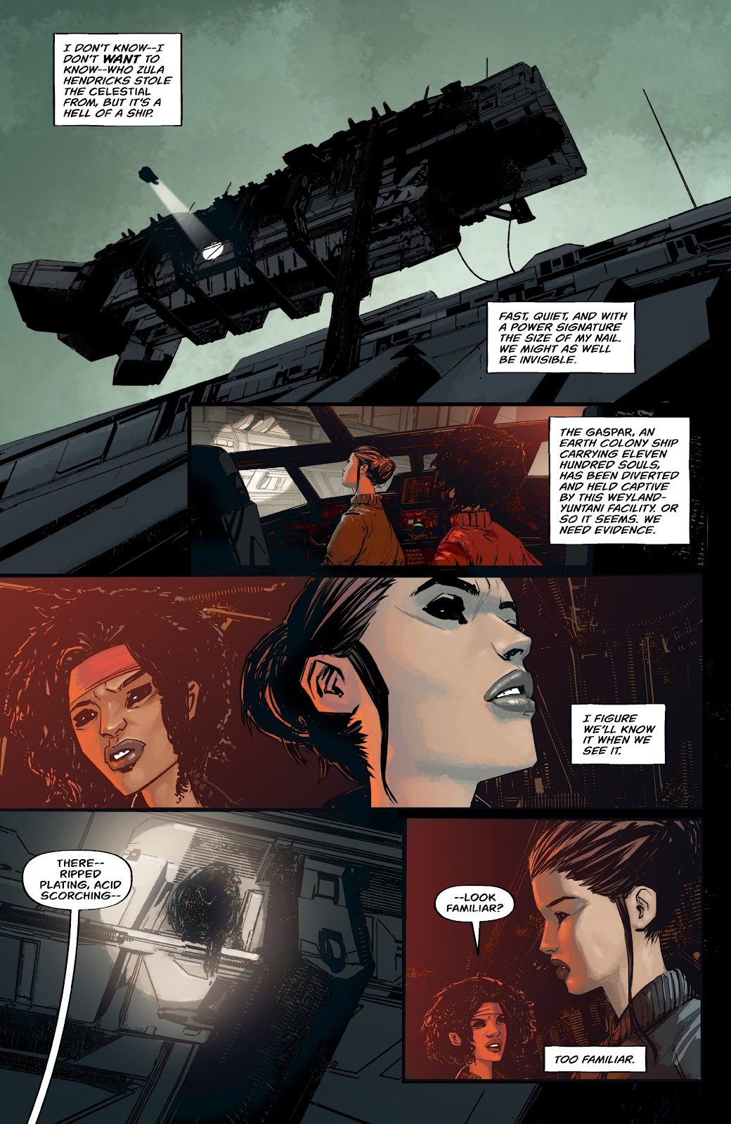 Read online Aliens: Resistance comic -  Issue #2 - 6