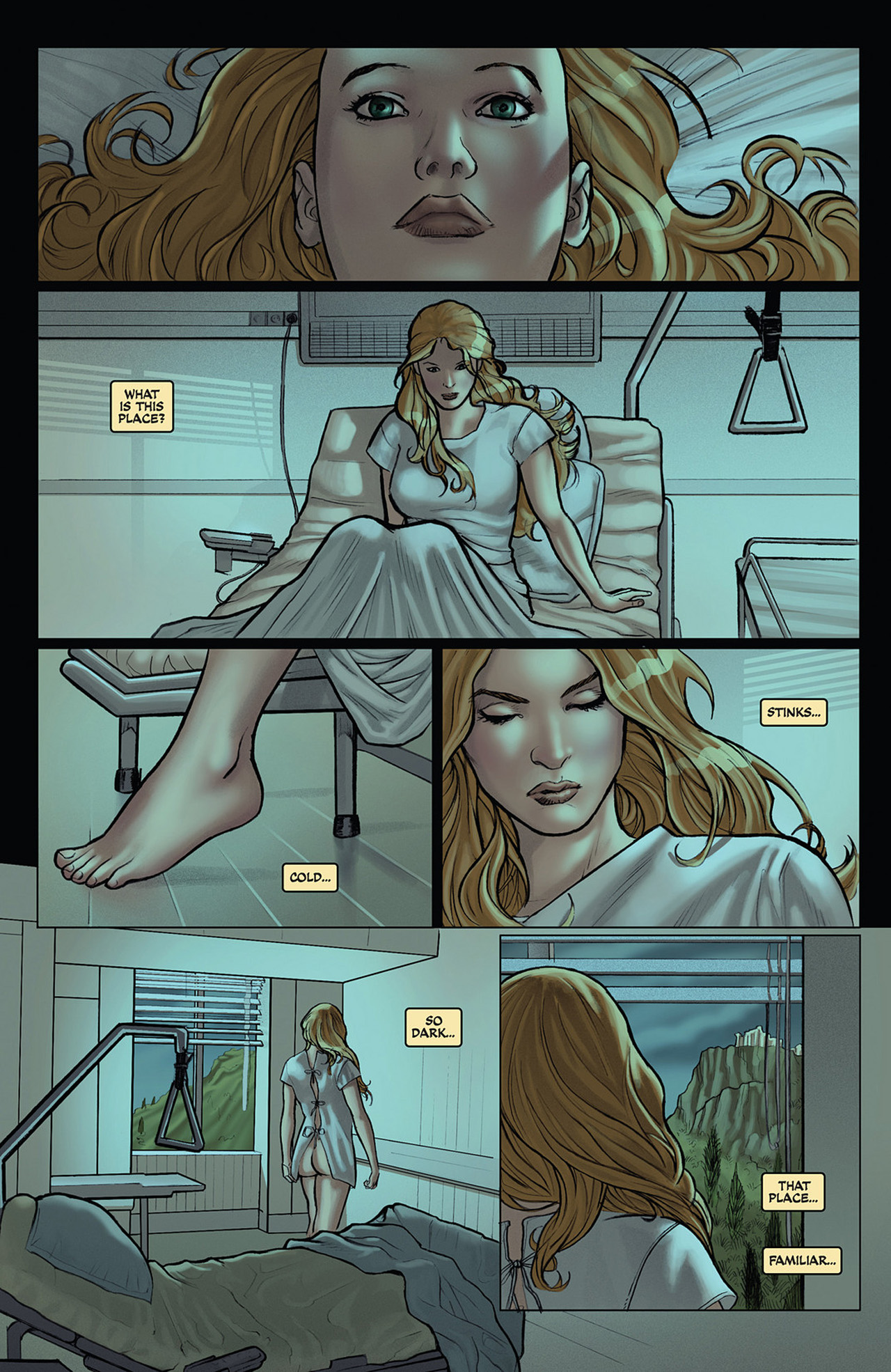 Read online Athena comic -  Issue #1 - 9