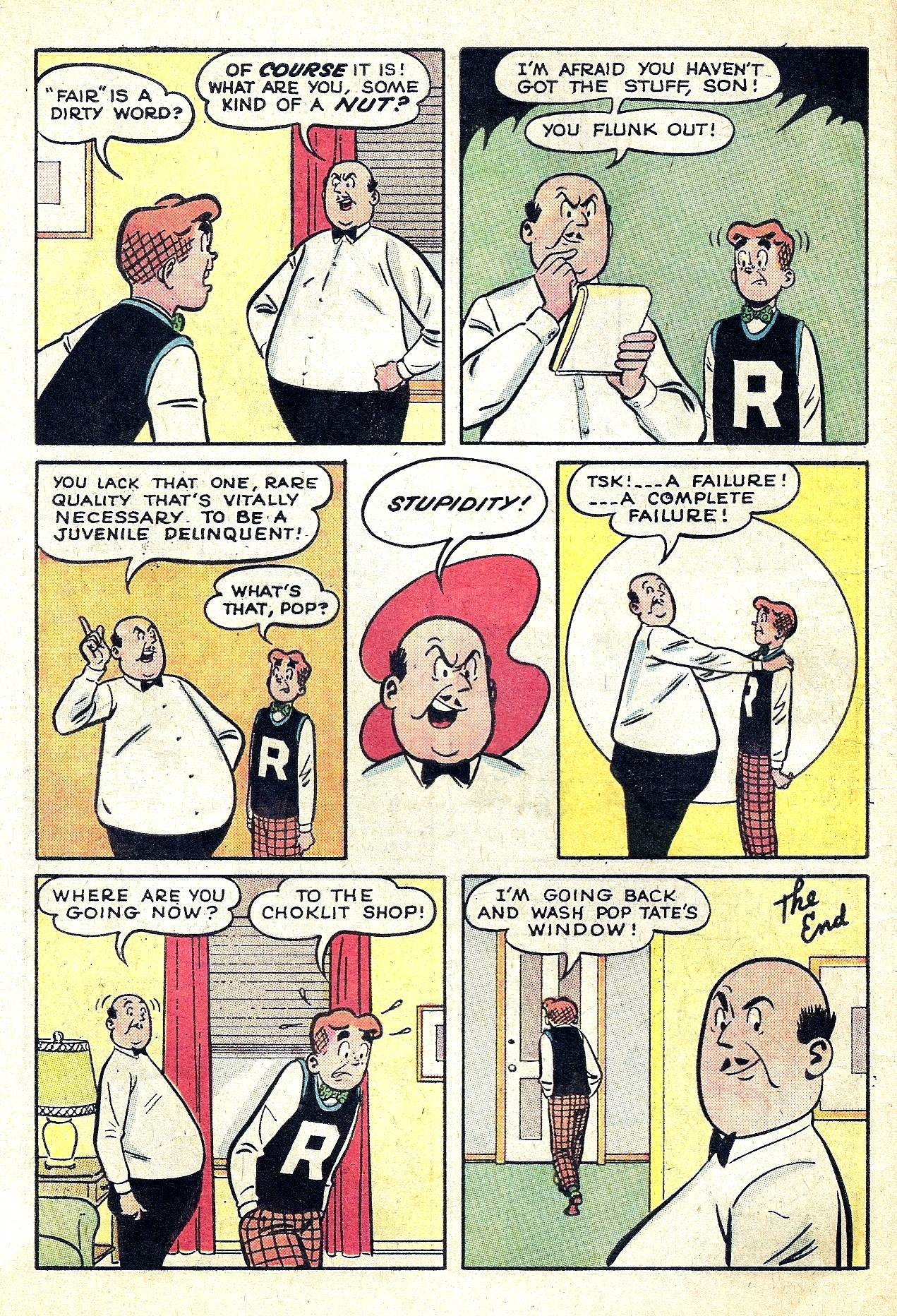 Read online Archie (1960) comic -  Issue #130 - 8