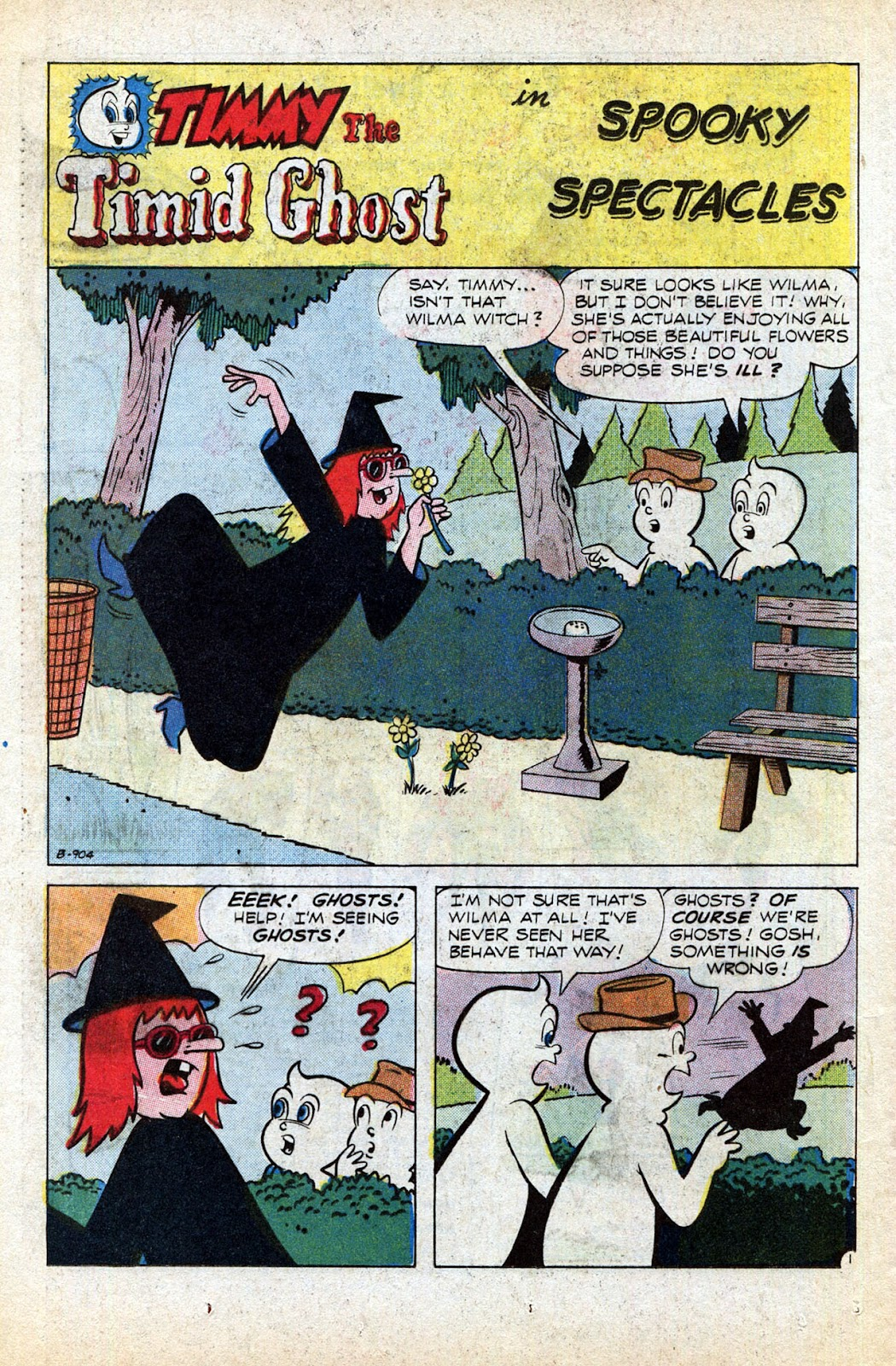 Read online Timmy the Timid Ghost comic -  Issue #1 - 24
