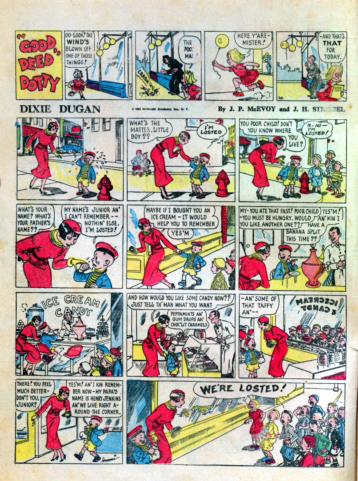 Read online Famous Funnies comic -  Issue #6 - 4