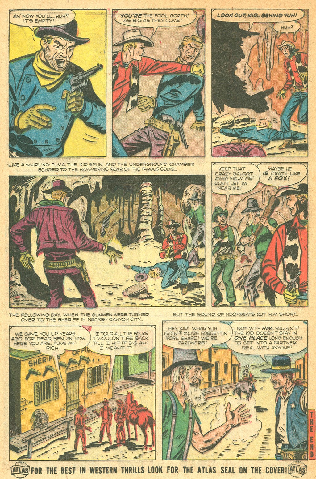 Kid Colt Outlaw issue 53 - Page 32