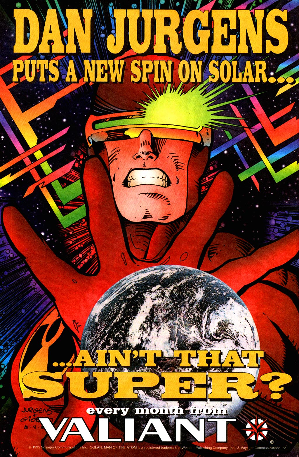 Read online Solar, Man of the Atom comic -  Issue #45 - 27