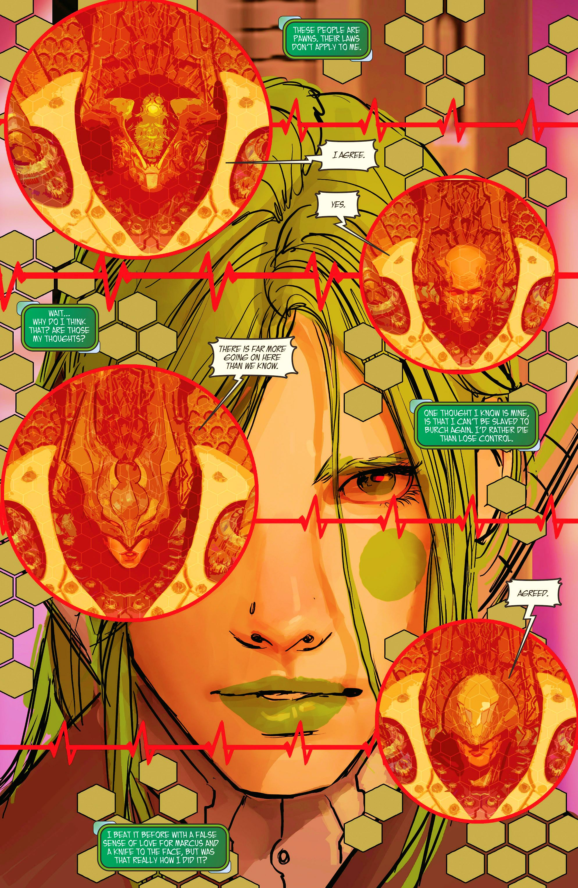 Read online Aphrodite IX (2013) comic -  Issue #10 - 14