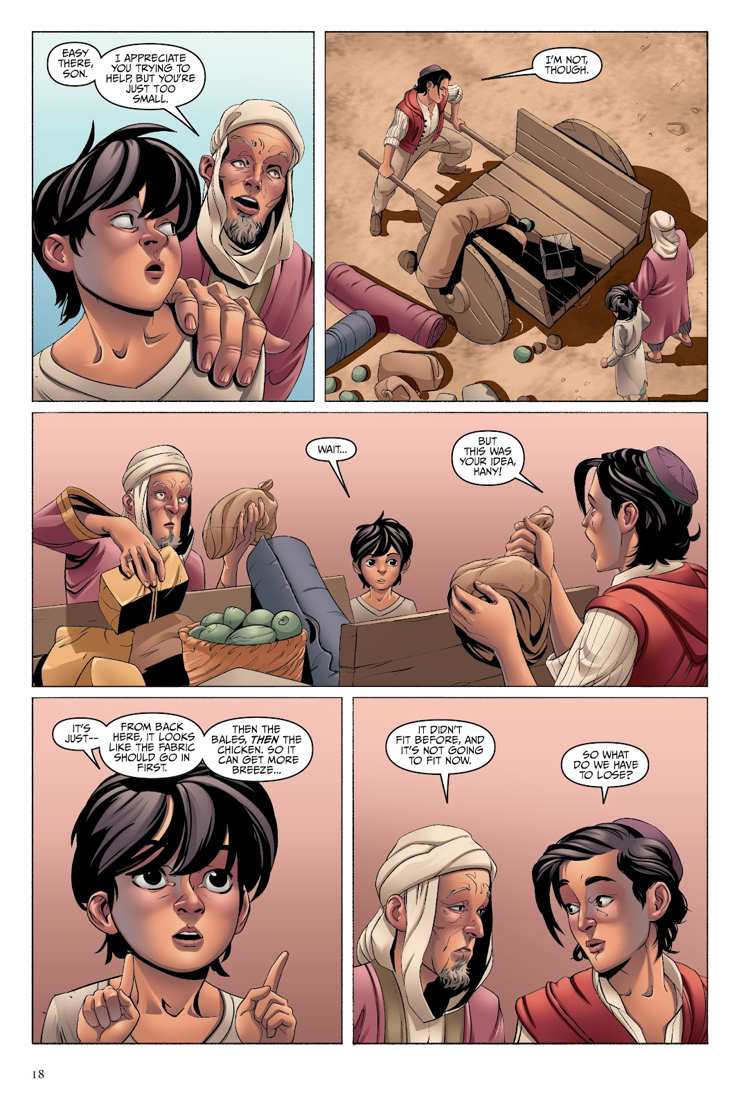 Read online Disney Aladdin: Four Tales of Agrabah comic -  Issue # TPB - 18