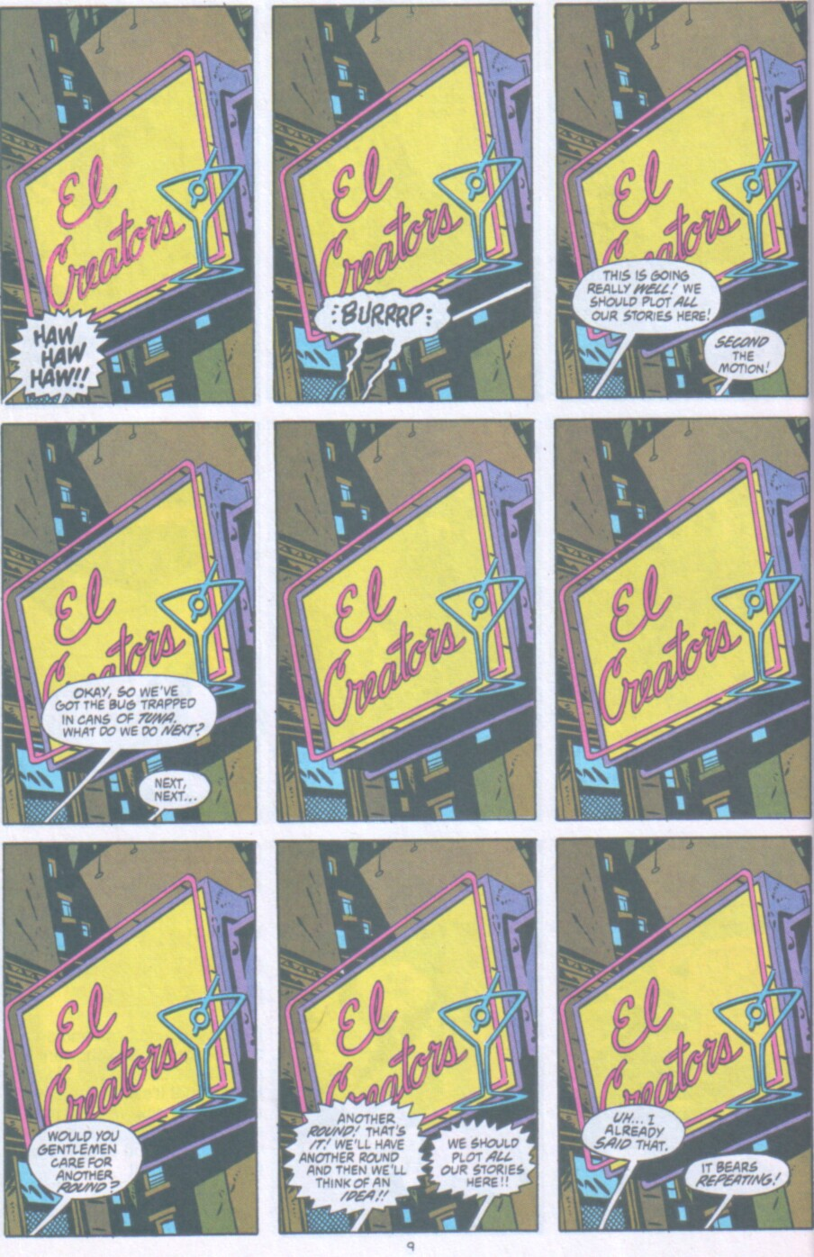 Read online Ambush Bug Nothing Special comic -  Issue # Full - 10