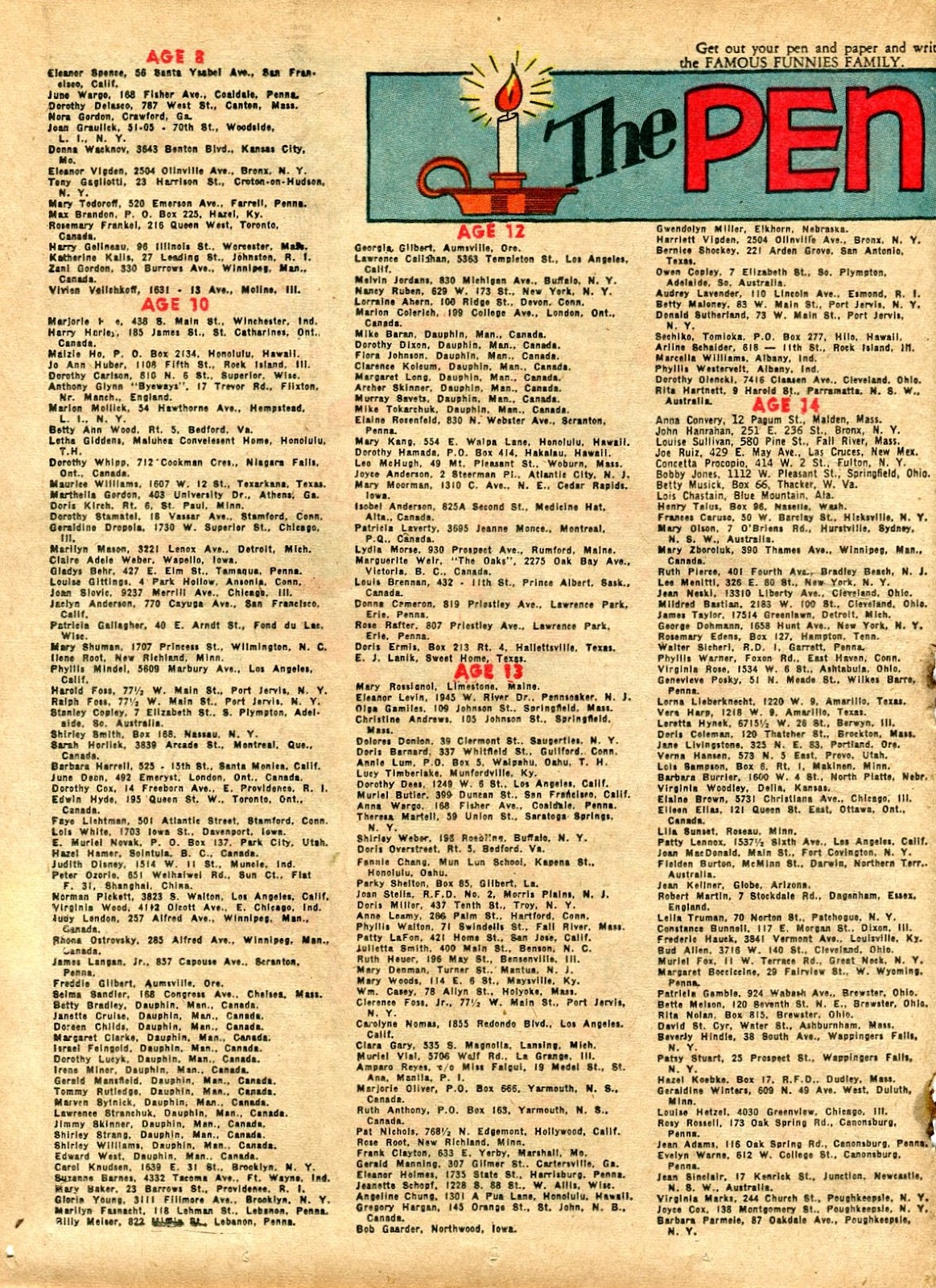 Read online Famous Funnies comic -  Issue #72 - 34