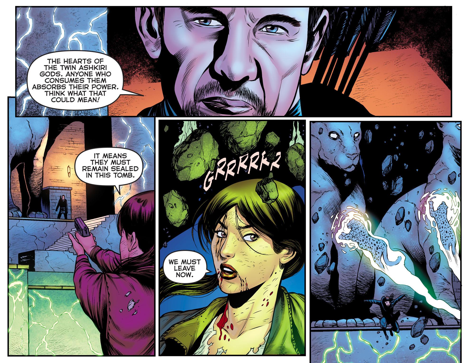 Read online Arrow: The Dark Archer comic -  Issue #9 - 20