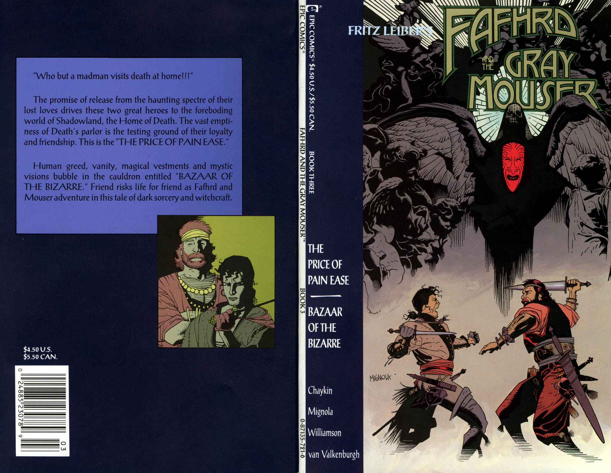 Read online Fafhrd and the Gray Mouser comic -  Issue #3 - 1