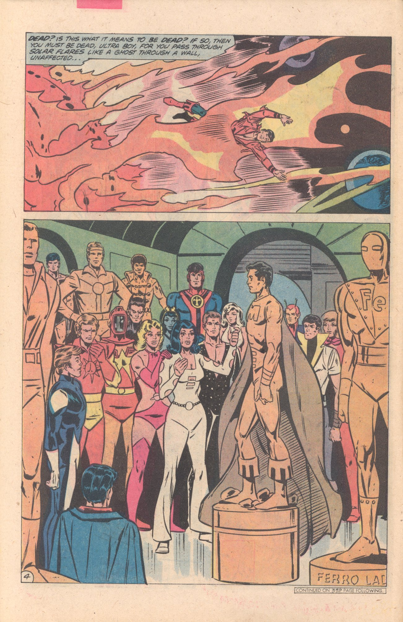 Legion of Super-Heroes (1980) 274 Page 4