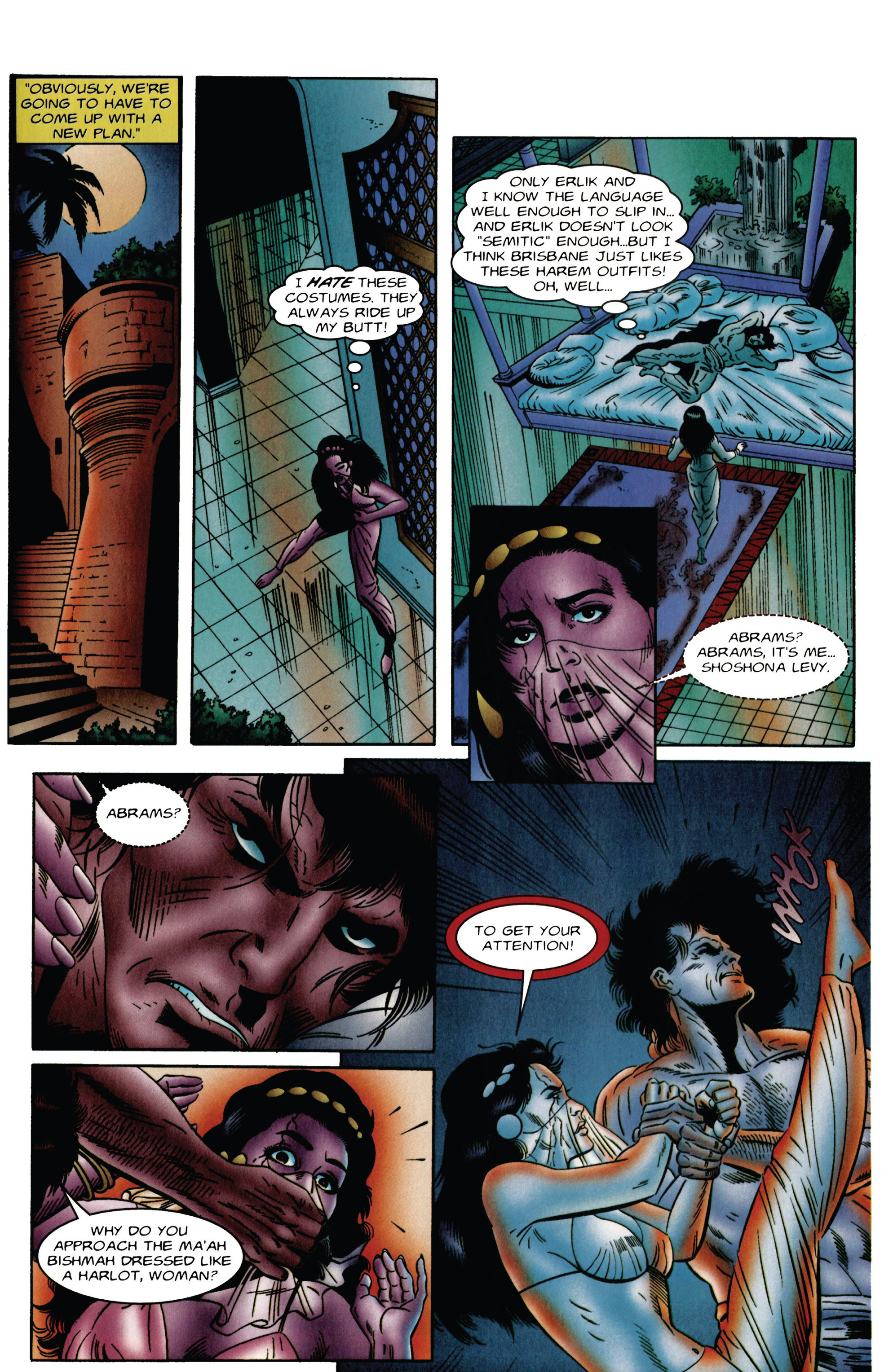 Read online Eternal Warrior (1992) comic -  Issue #48 - 17