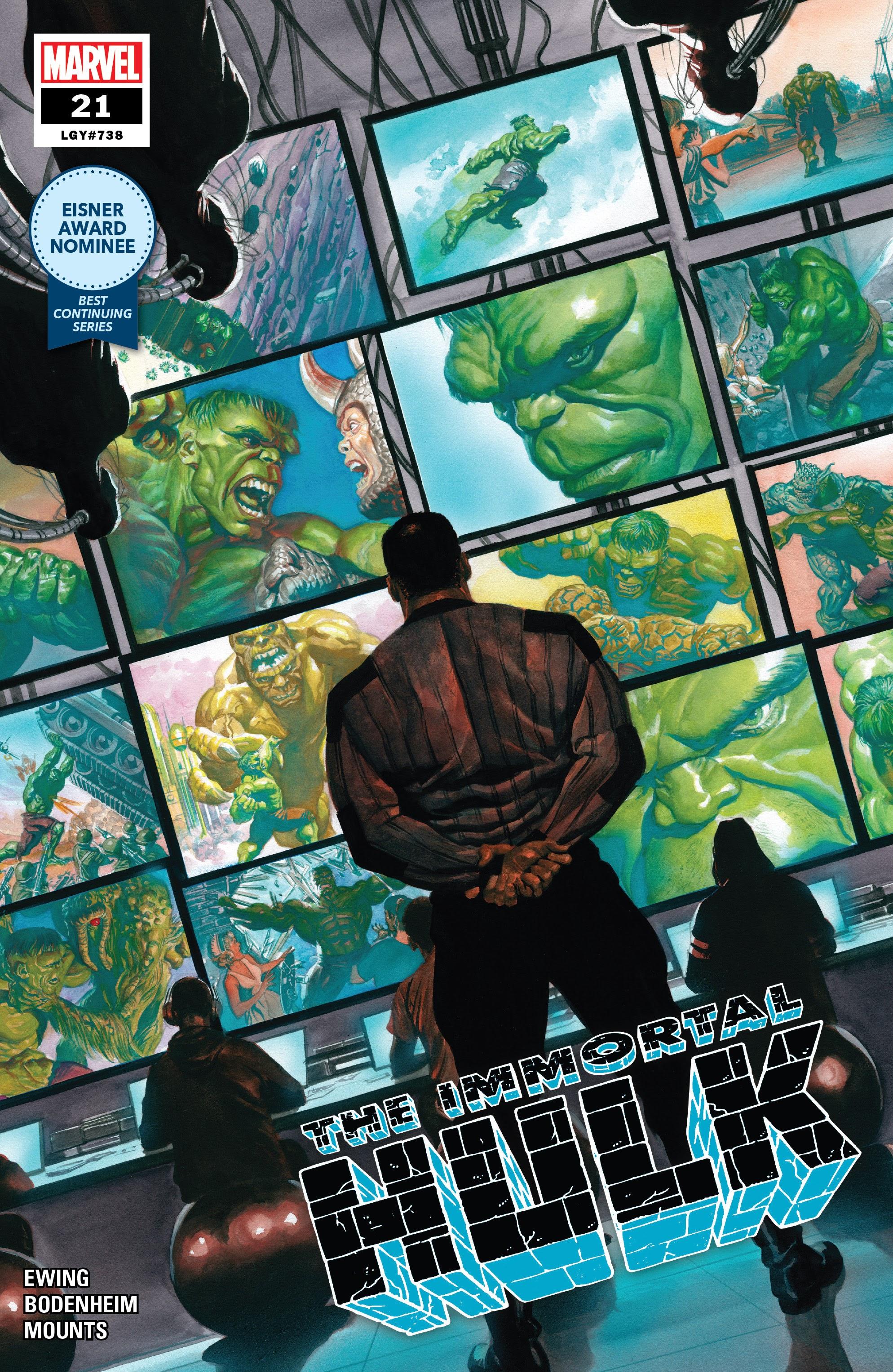 Immortal Hulk (2018) issue 21 - Page 1