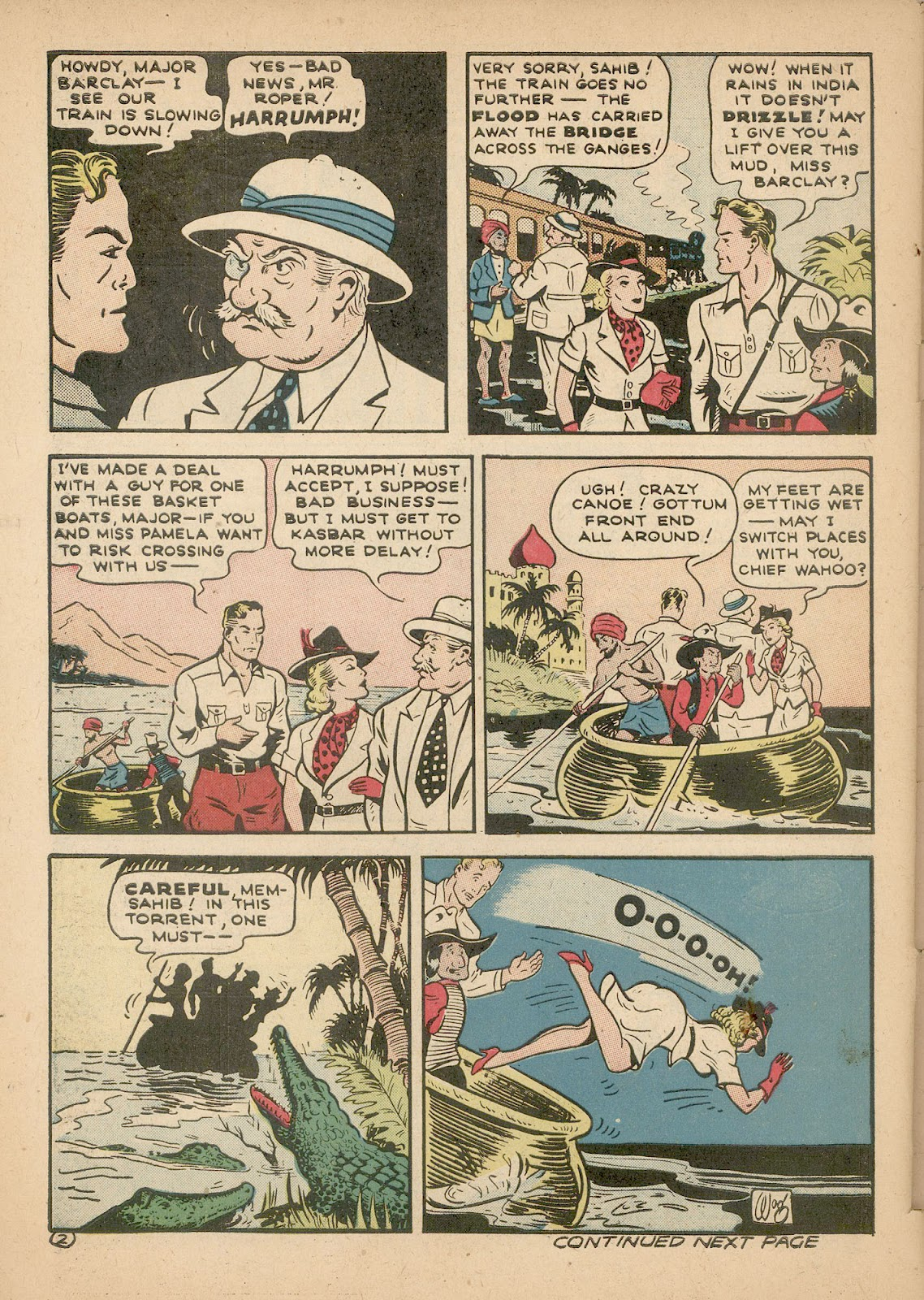 Read online Famous Funnies comic -  Issue #98 - 57