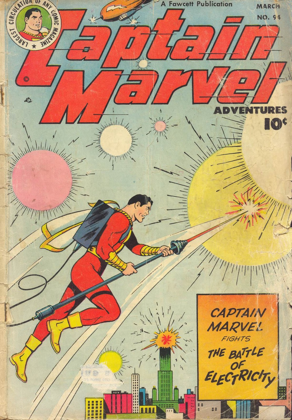 Captain Marvel Adventures issue 94 - Page 1