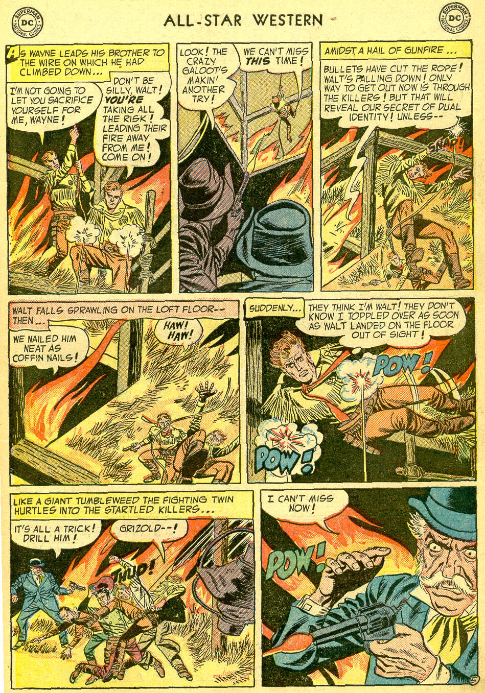 Read online All-Star Western (1951) comic -  Issue #75 - 7