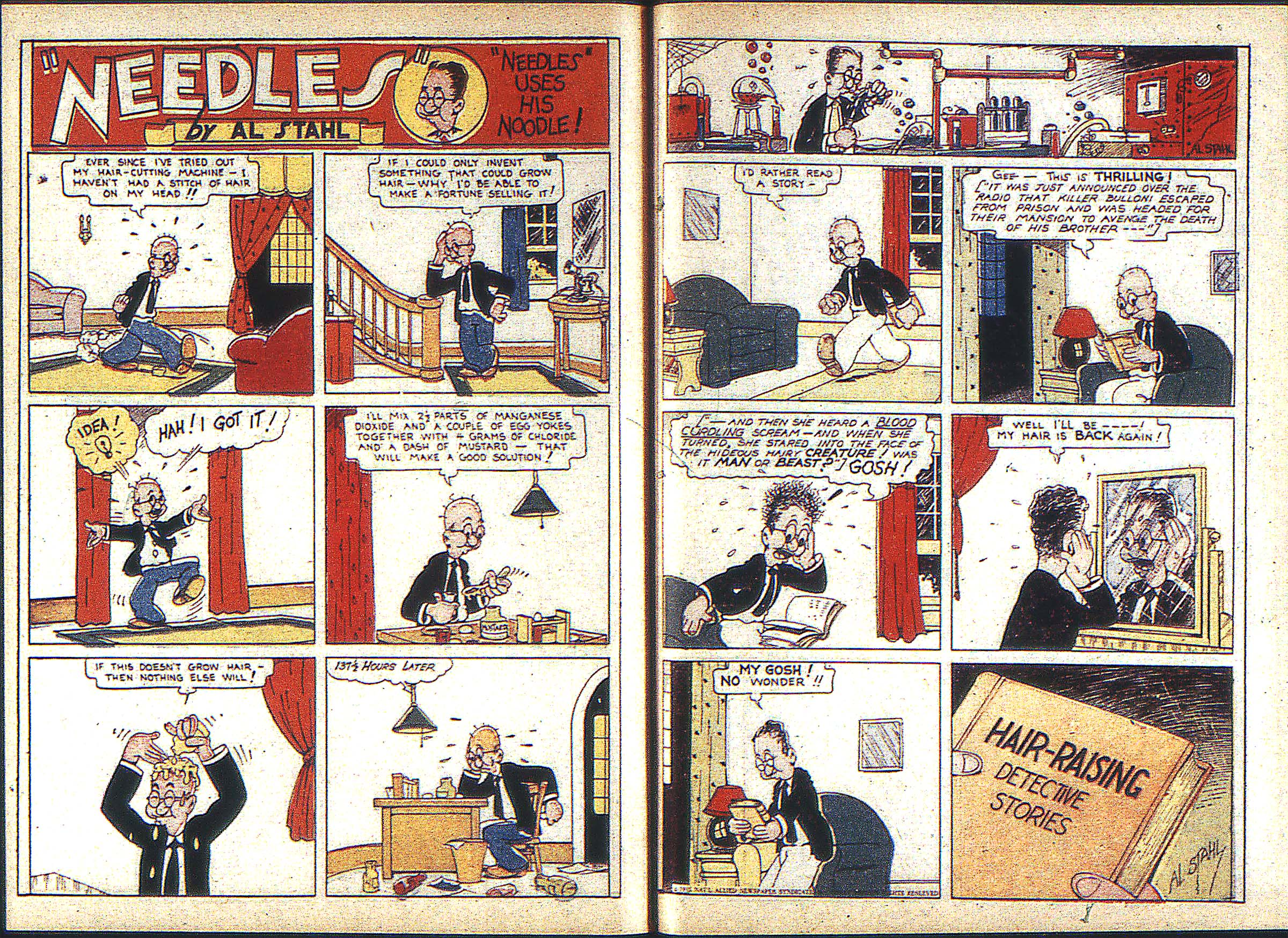 Read online Adventure Comics (1938) comic -  Issue #2 - 34
