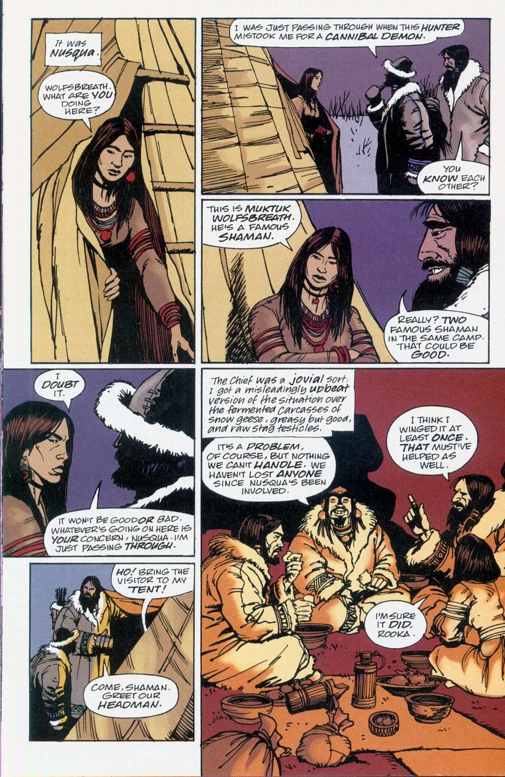 Muktuk Wolfsbreath: Hard-Boiled Shaman issue 1 - Page 10
