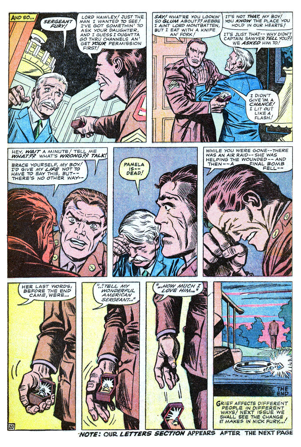 Read online Sgt. Fury comic -  Issue #18 - 28
