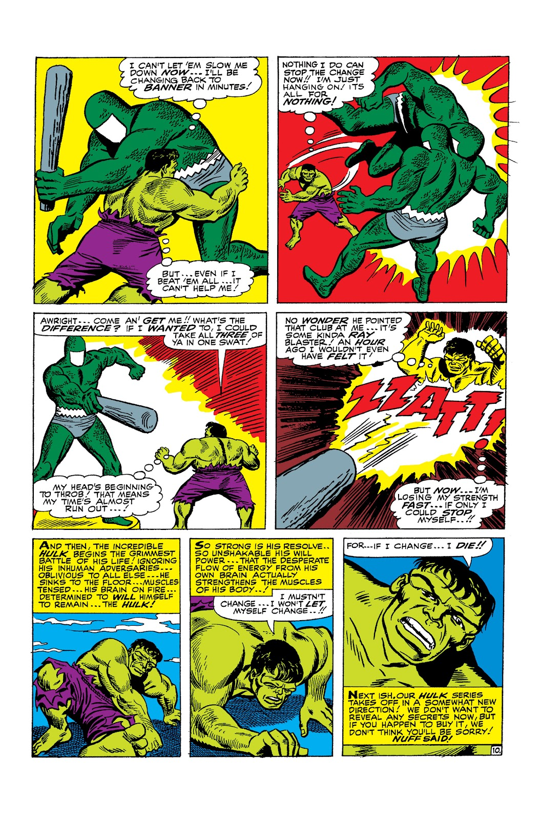 Read online Marvel Masterworks: The Incredible Hulk comic -  Issue # TPB 2 (Part 2) - 66