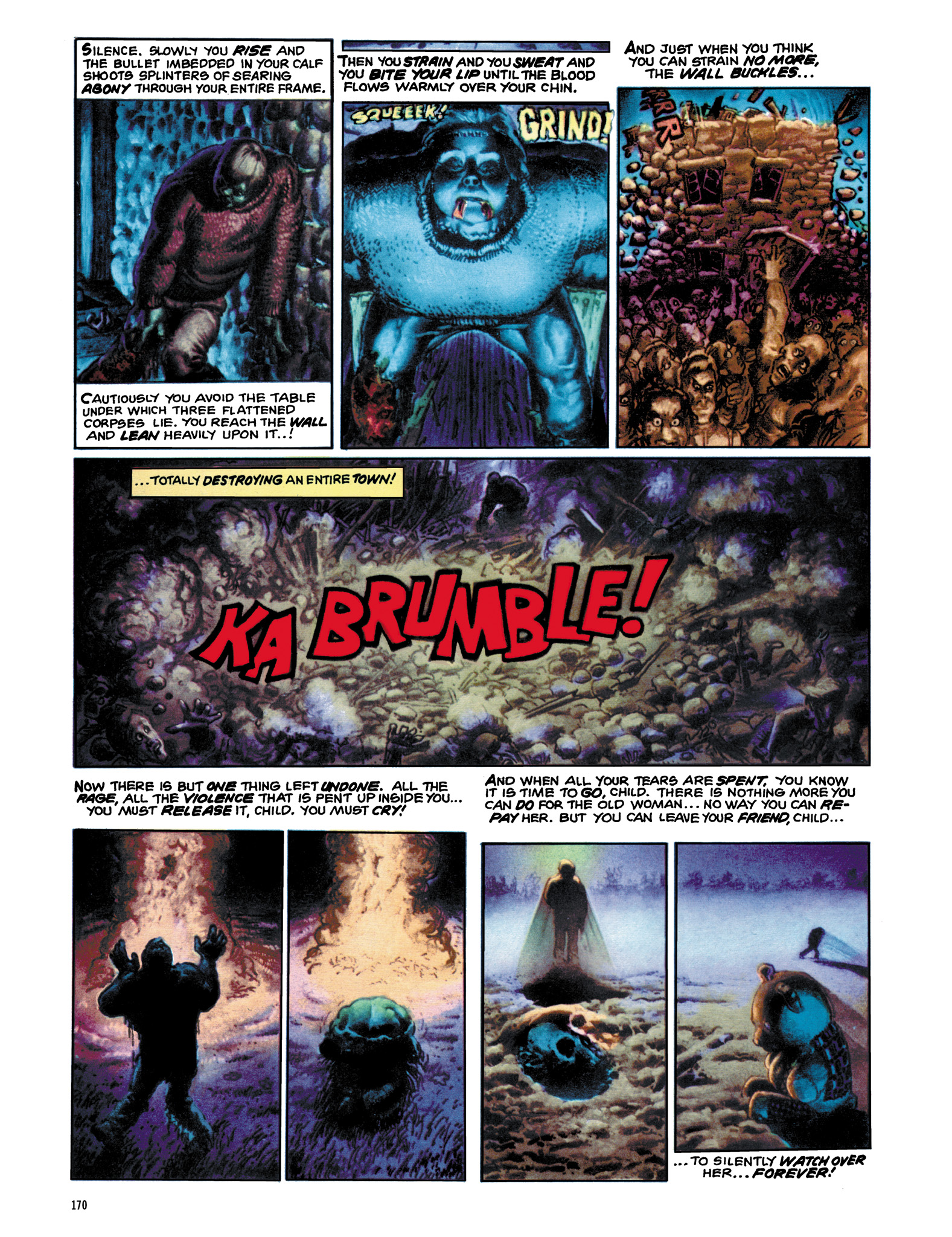Read online Eerie Archives comic -  Issue # TPB 12 - 171