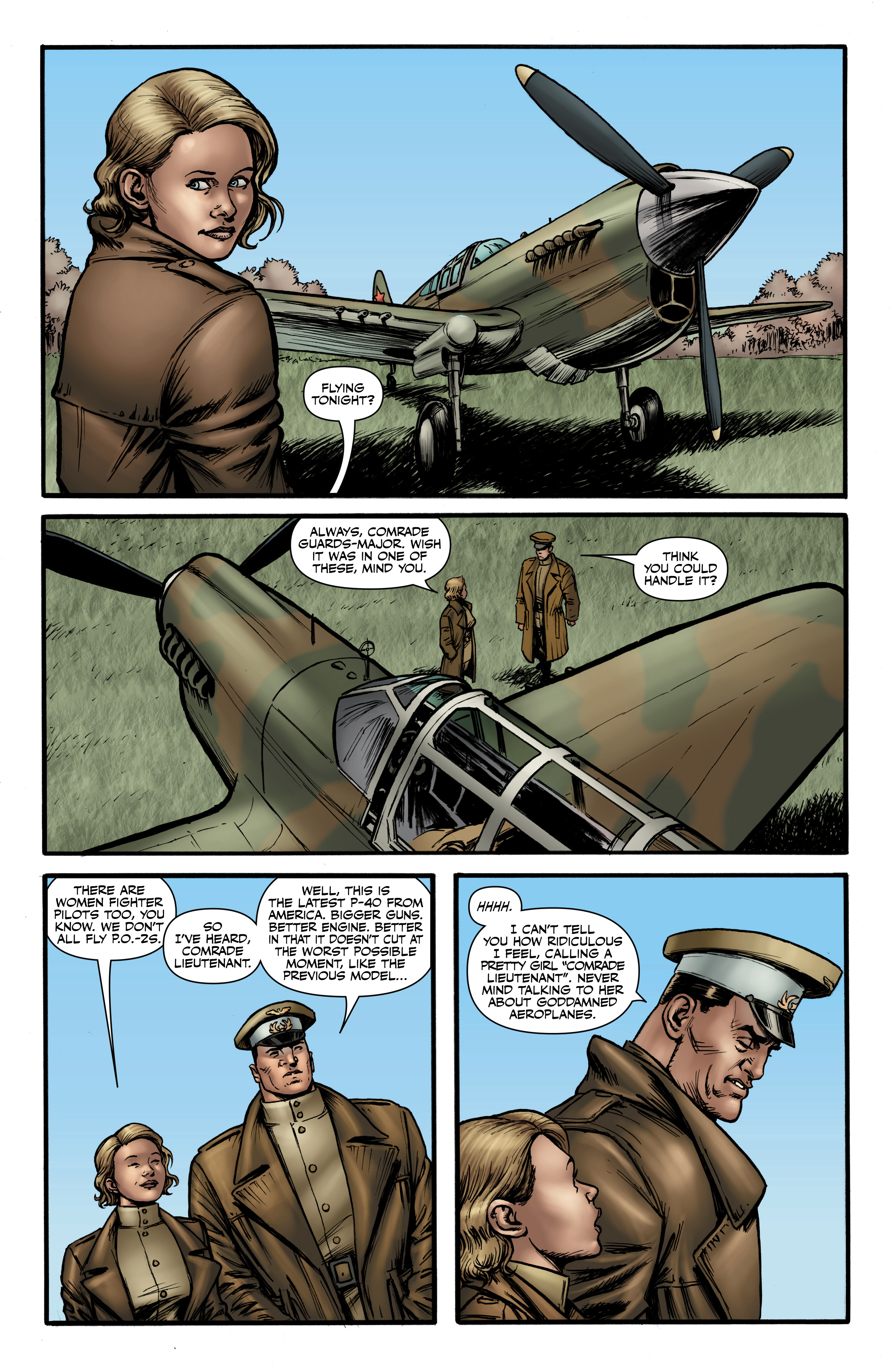 Read online Battlefields: Night Witches comic -  Issue # TPB - 46