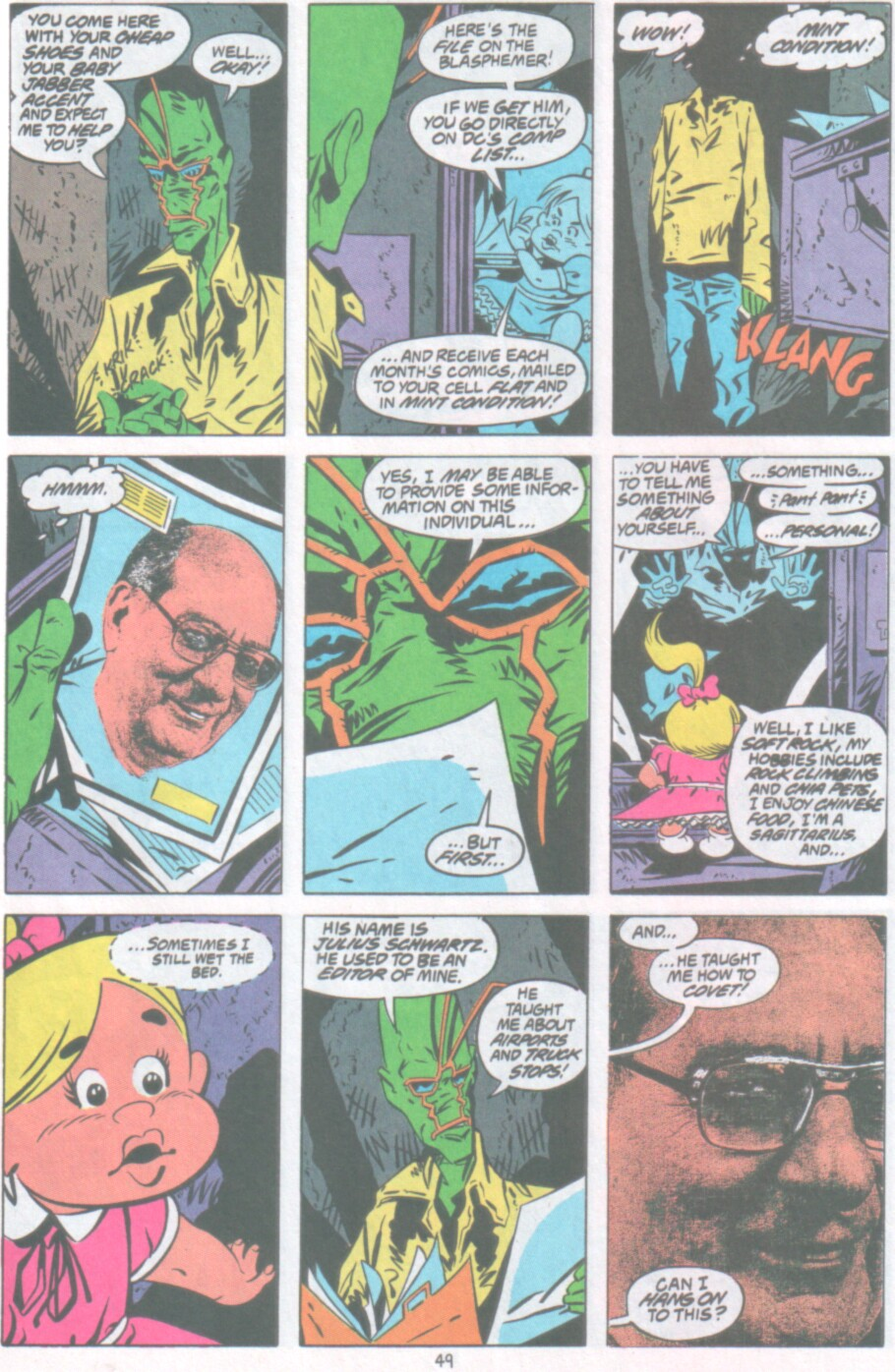 Read online Ambush Bug Nothing Special comic -  Issue # Full - 42