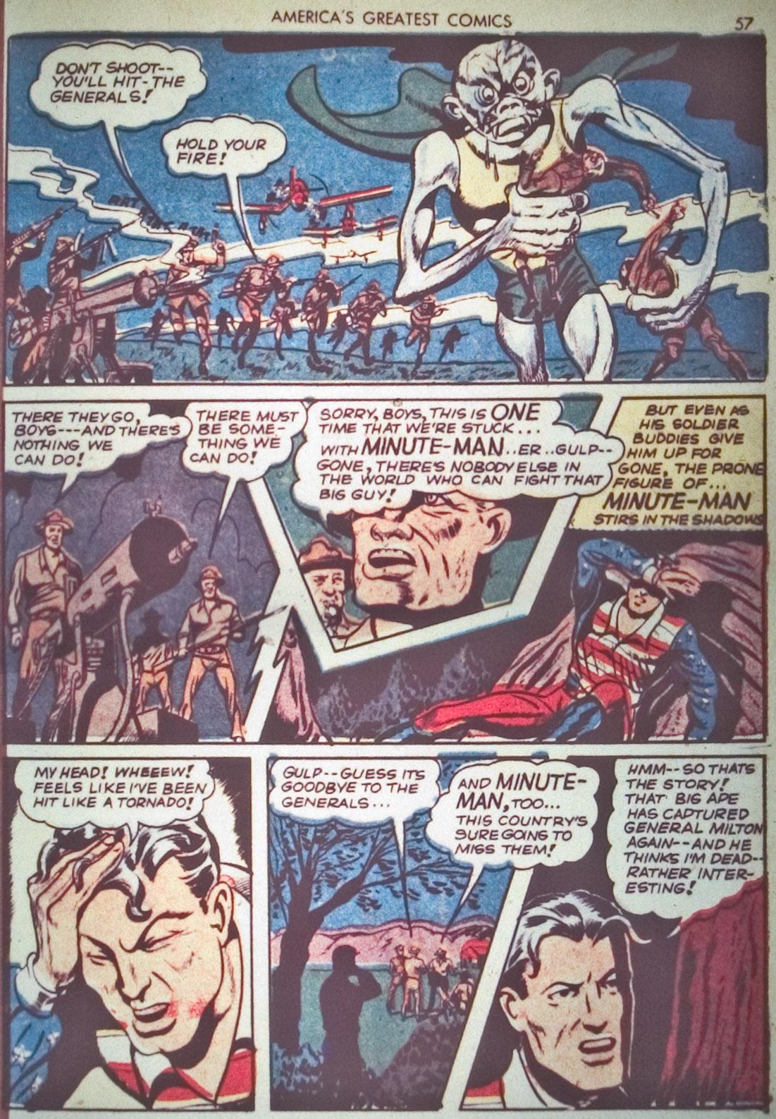 Read online America's Greatest Comics comic -  Issue #1 - 60