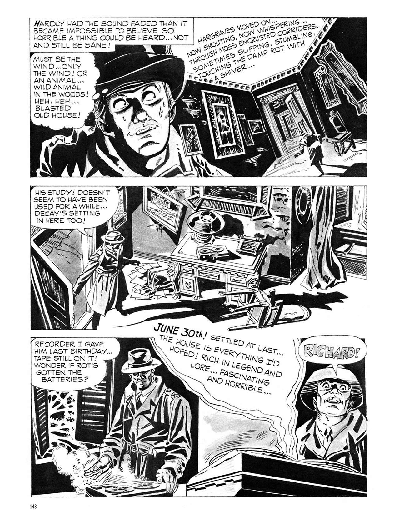 Read online Eerie Archives comic -  Issue # TPB 1 - 149