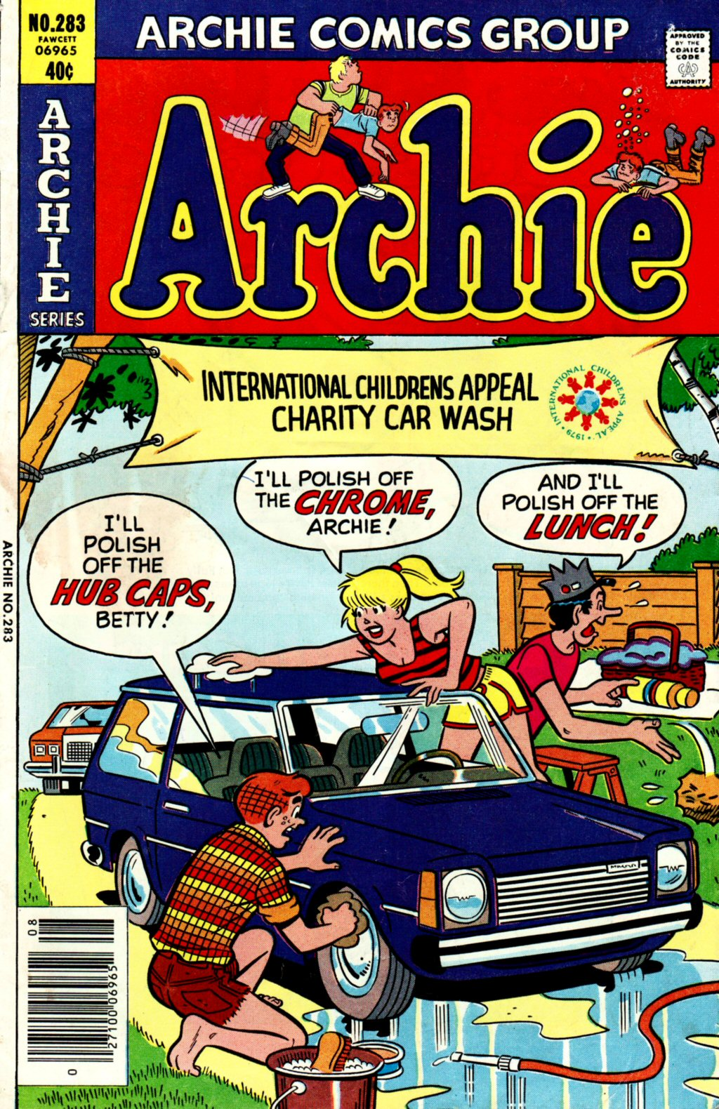 Read online Archie (1960) comic -  Issue #283 - 1