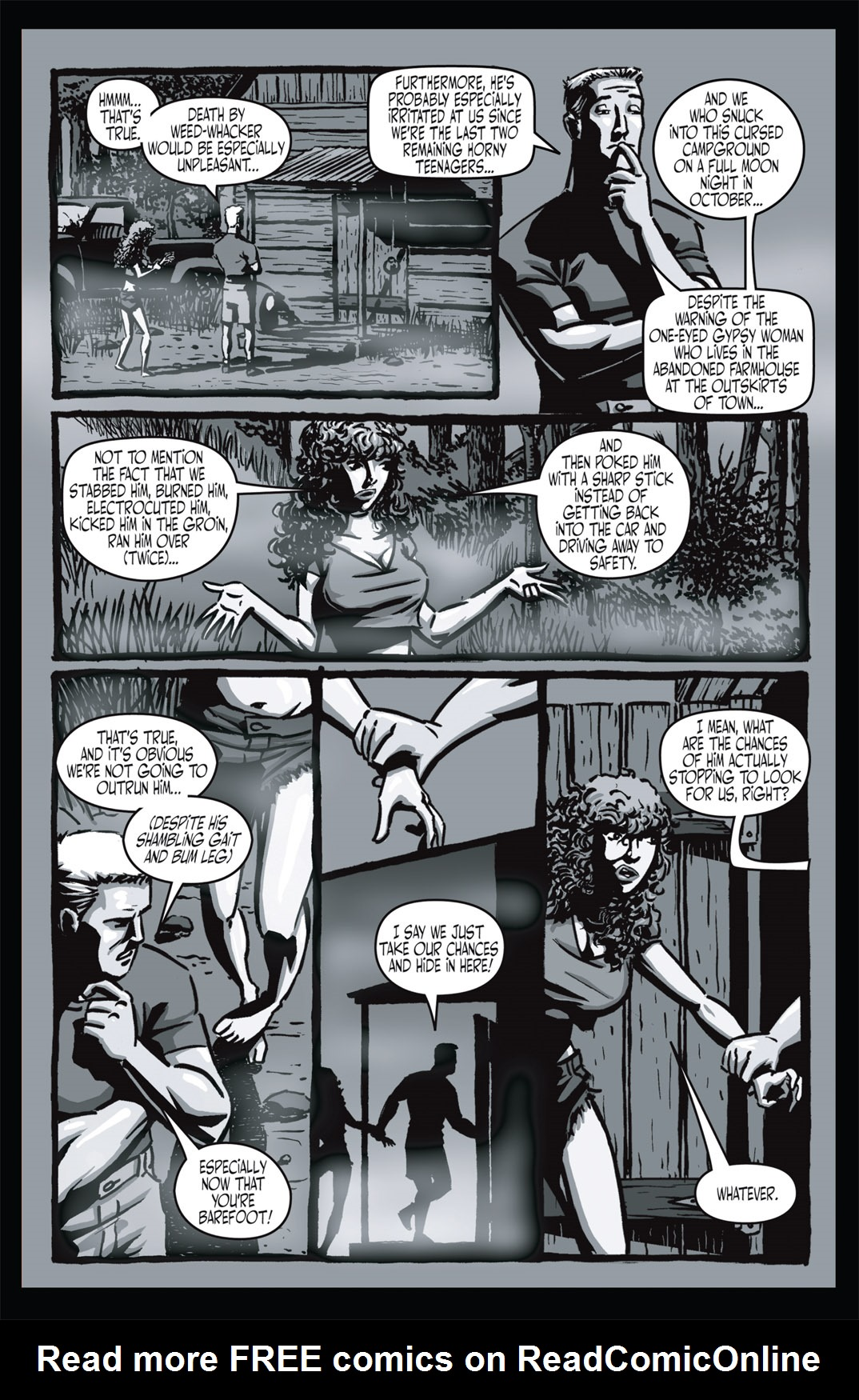 Read online Nightmare World comic -  Issue # Vol. 1 Thirteen Tales of Terror - 21