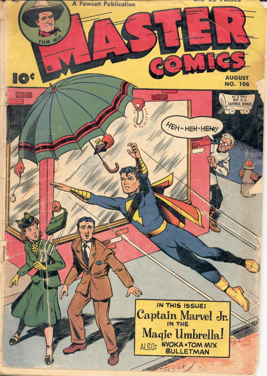 Master Comics 106 Page 1