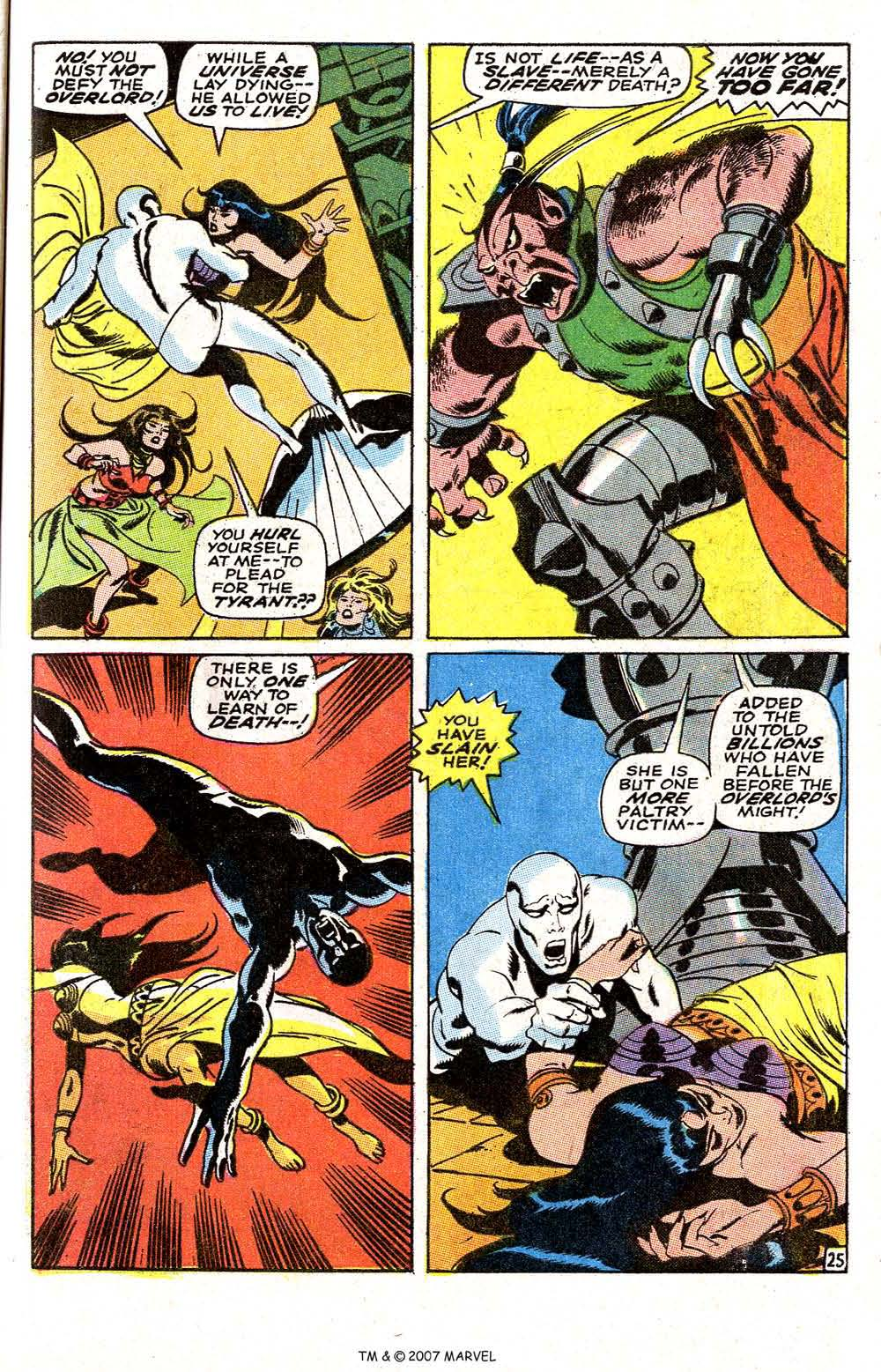 Read online Silver Surfer (1968) comic -  Issue #6 - 31