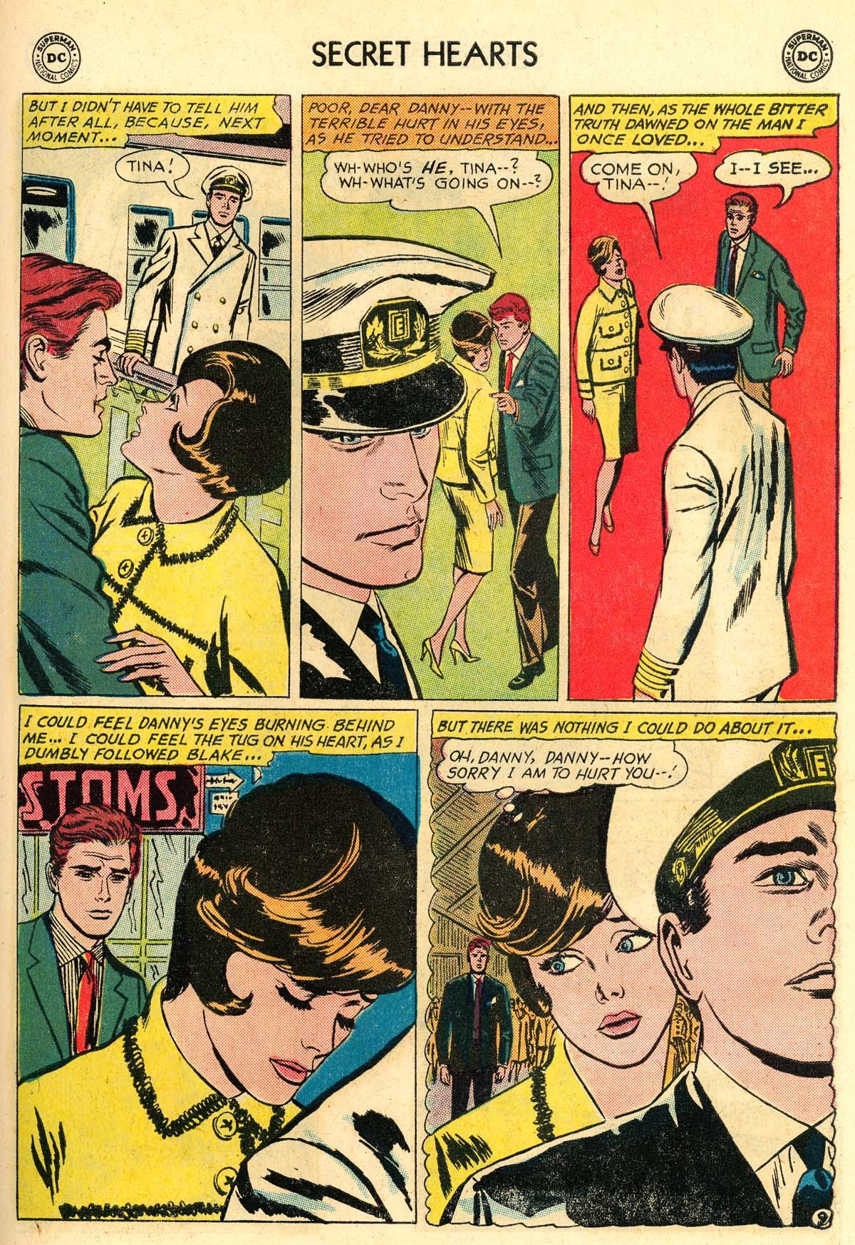 Read online Secret Hearts comic -  Issue #106 - 27