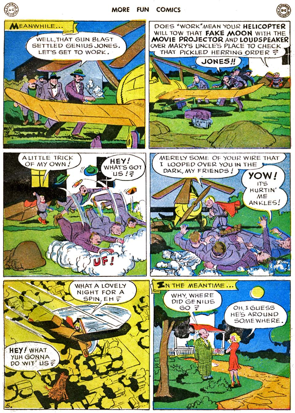 More Fun Comics issue 120 - Page 60